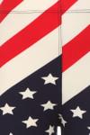 Wholesale Buttery Soft Mini Star Twist USA Flag Kid's Leggings