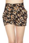 Amber Petal Harem Shorts
