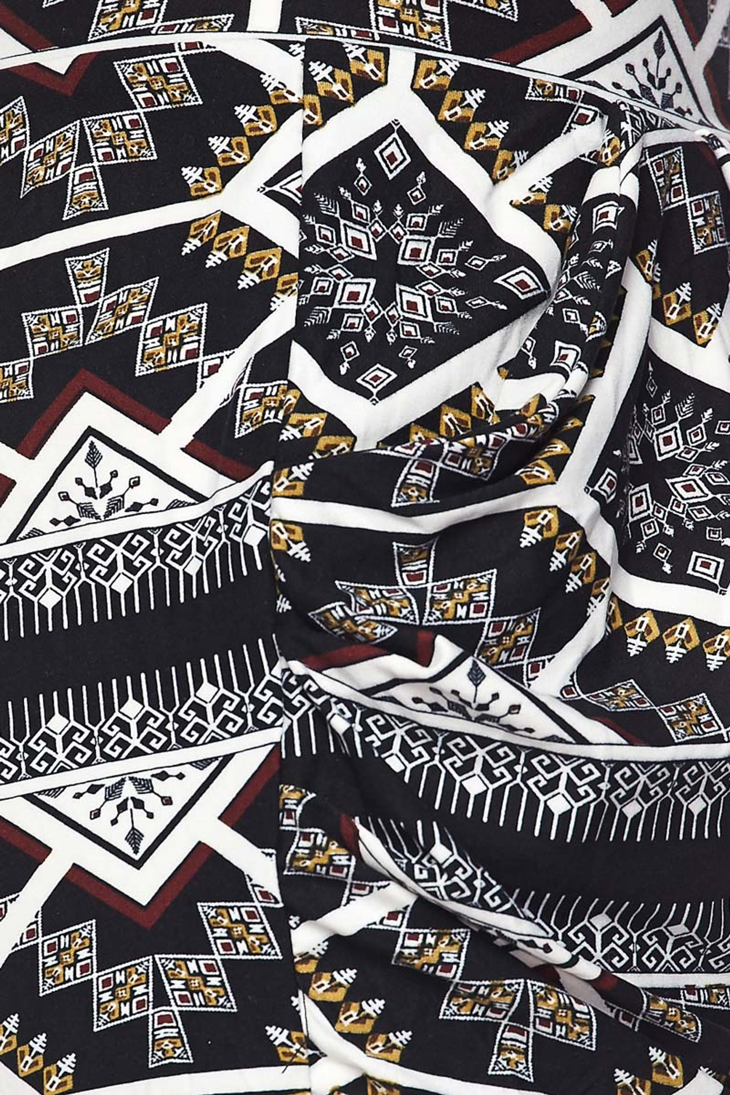 Geometric Tribal Harem Shorts