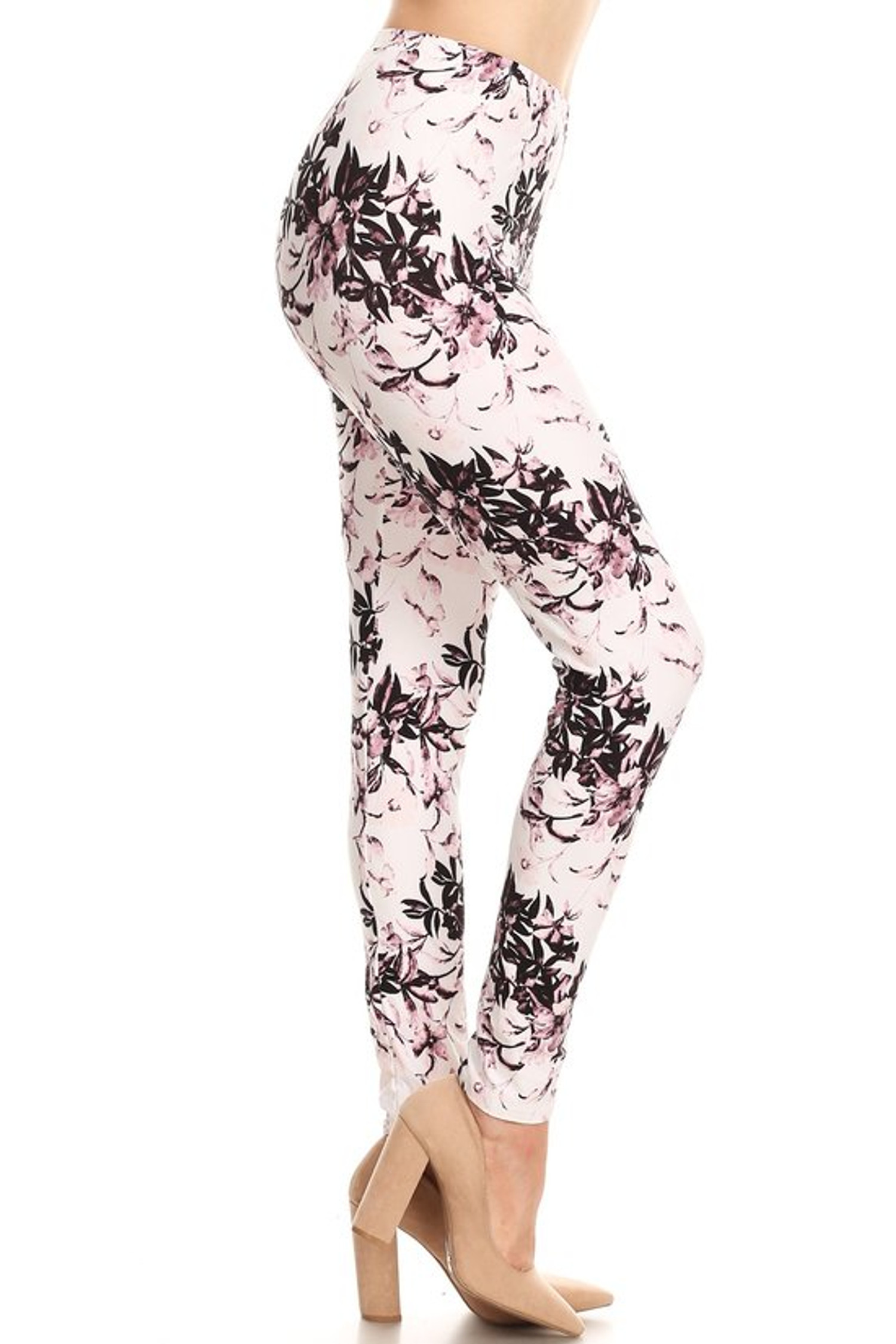 Blooming Floral Twist Leggings