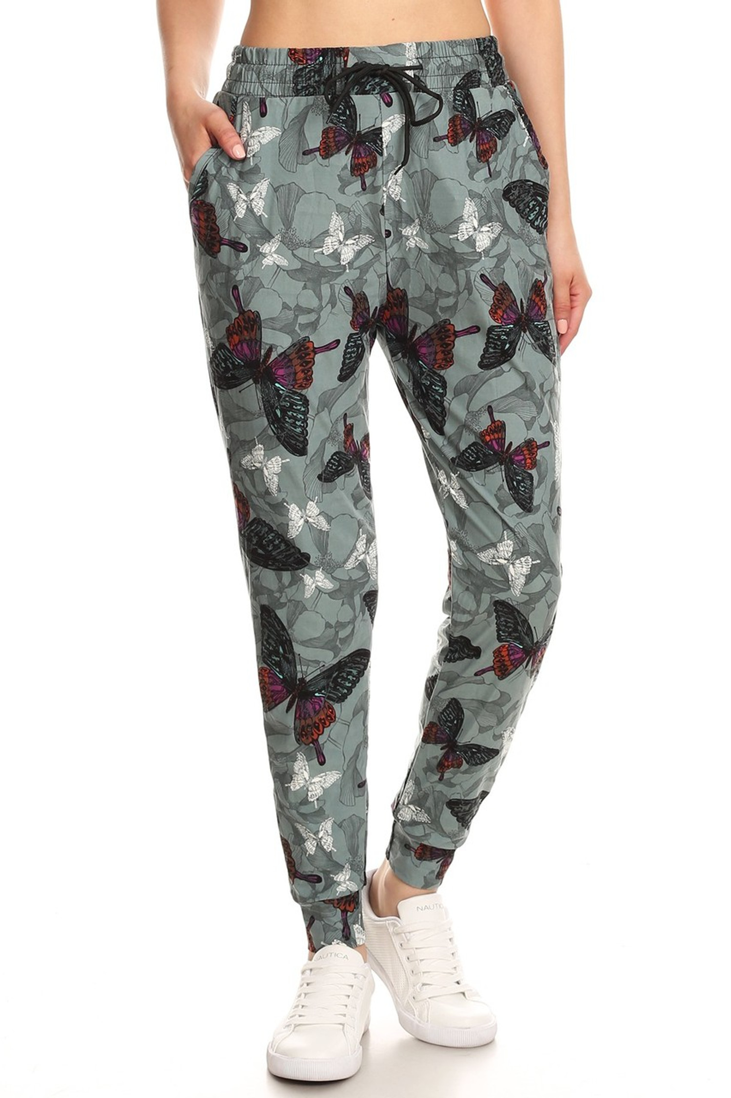 Brushed Gorgeous Butterfly Joggers