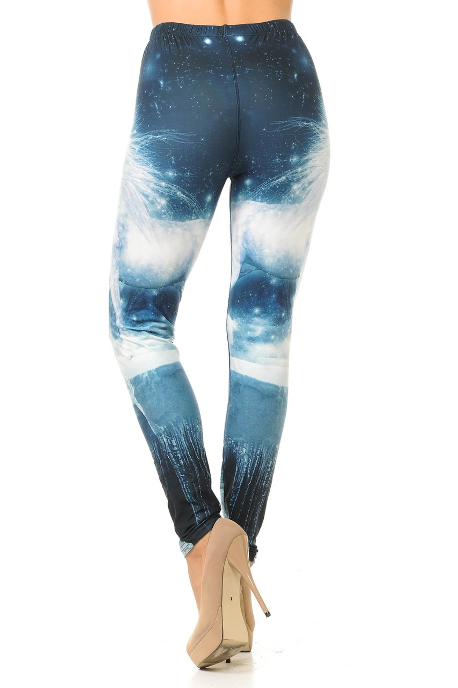 Creamy Soft Epic Unicorn Plus Size Leggings