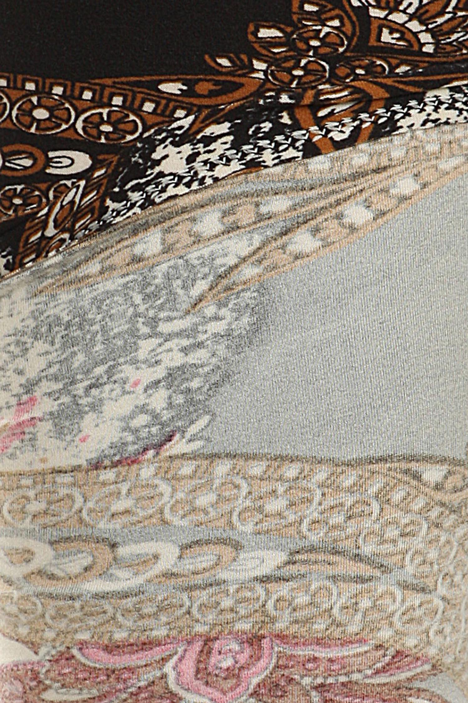Close-up fabric image of Brushed Berry Plume Plus Size Leggings