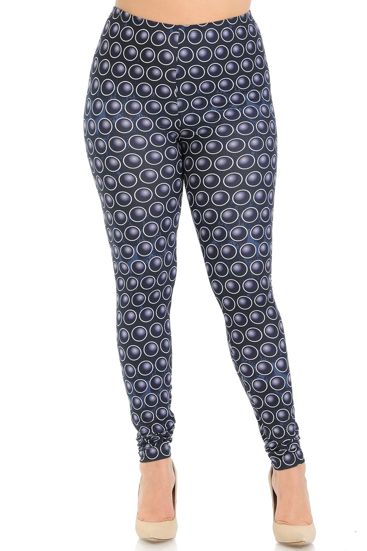 Creamy Soft 3D Ball Bearing Plus Size Leggings - Signature Collection