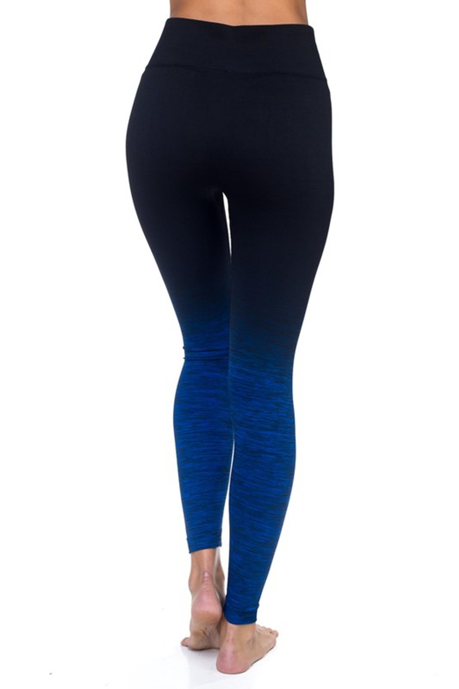 Body Flatter Color Blend Workout Leggings