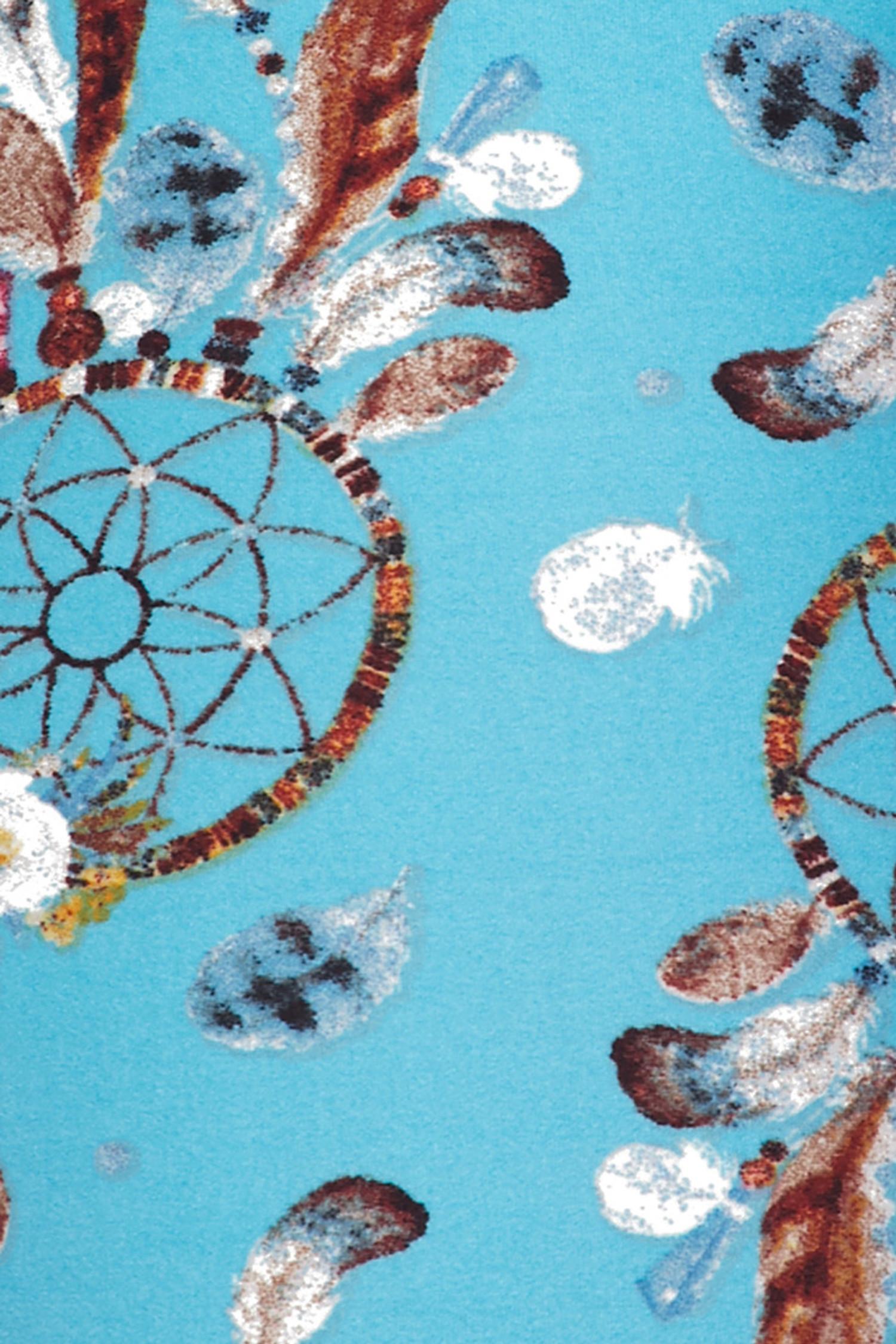 Brushed Blue Sky Dreamcatcher Leggings
