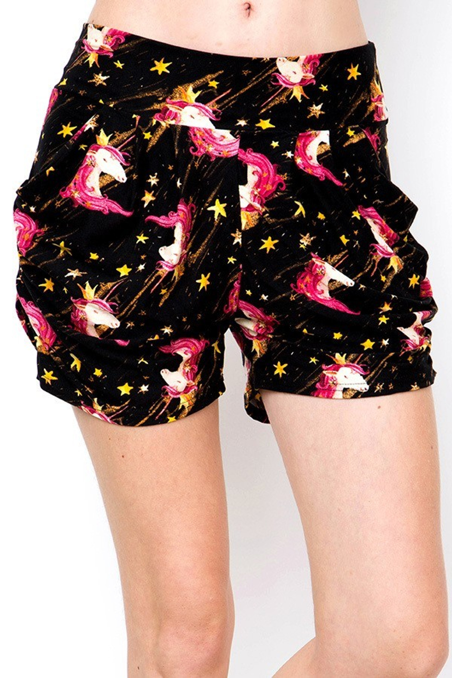 Brushed Twinkle Unicorn Shorts
