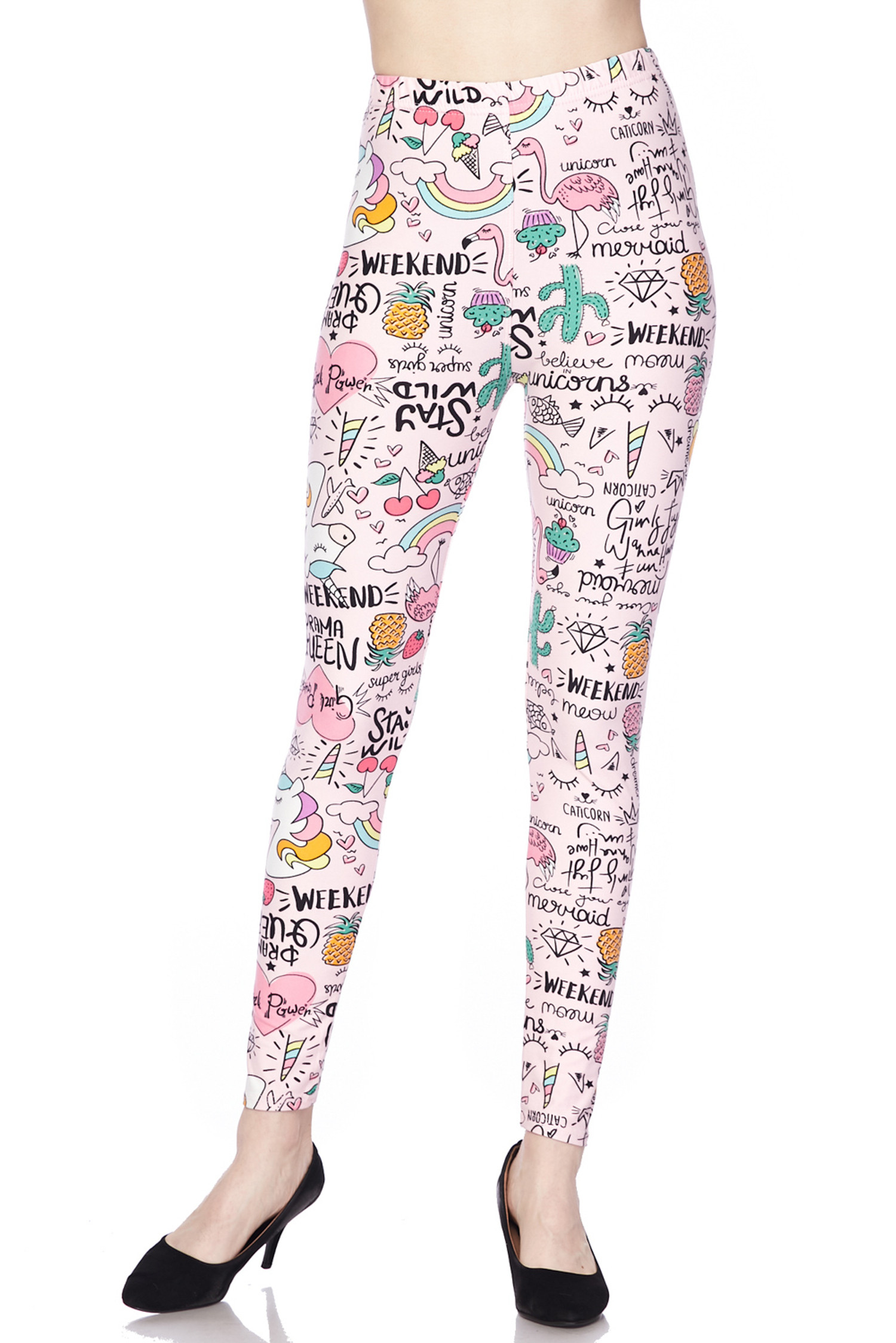 Soft Brushed Weekend Drama Queen Leggings