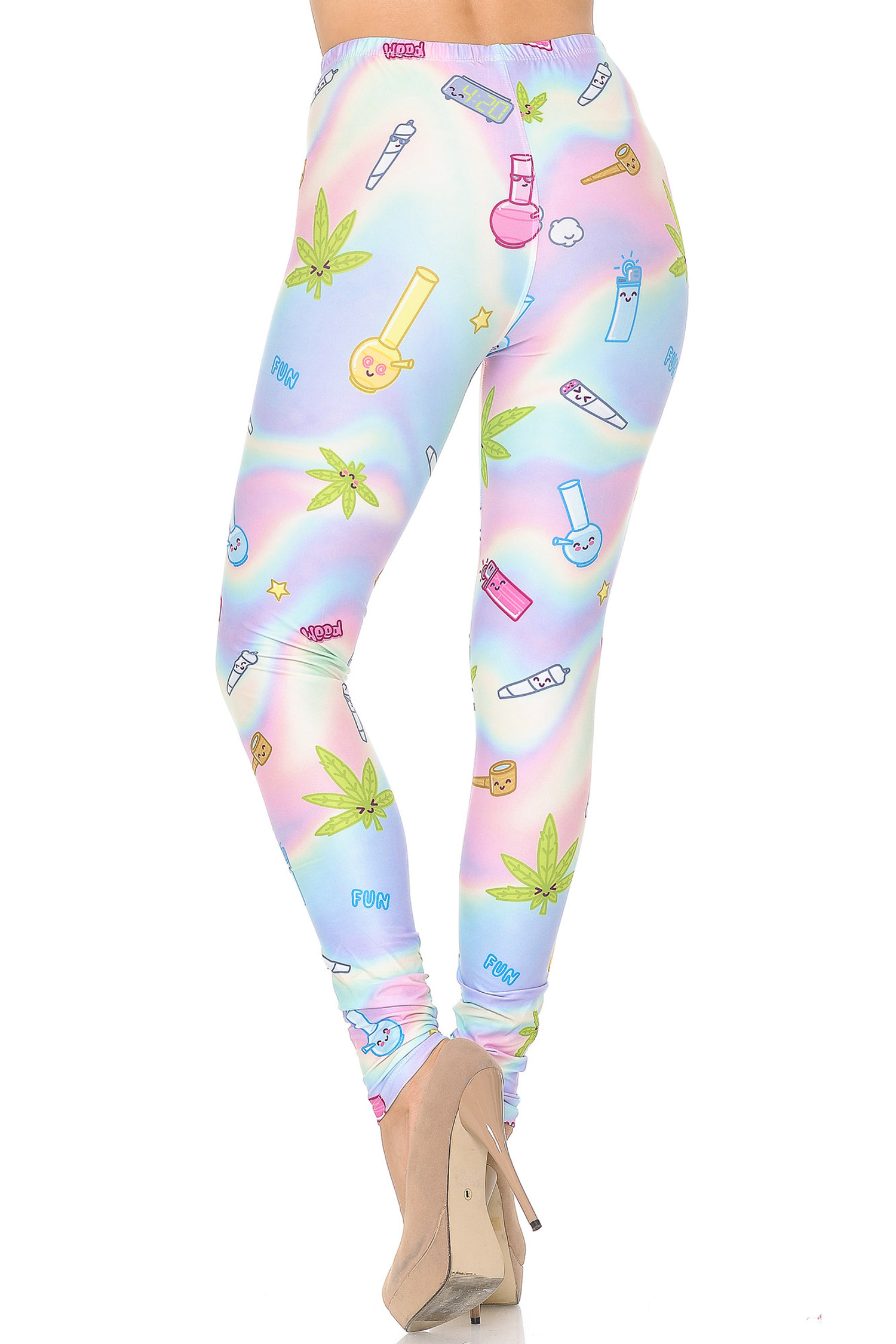 Creamy Soft Marijuana Life Leggings - USA Fashion™