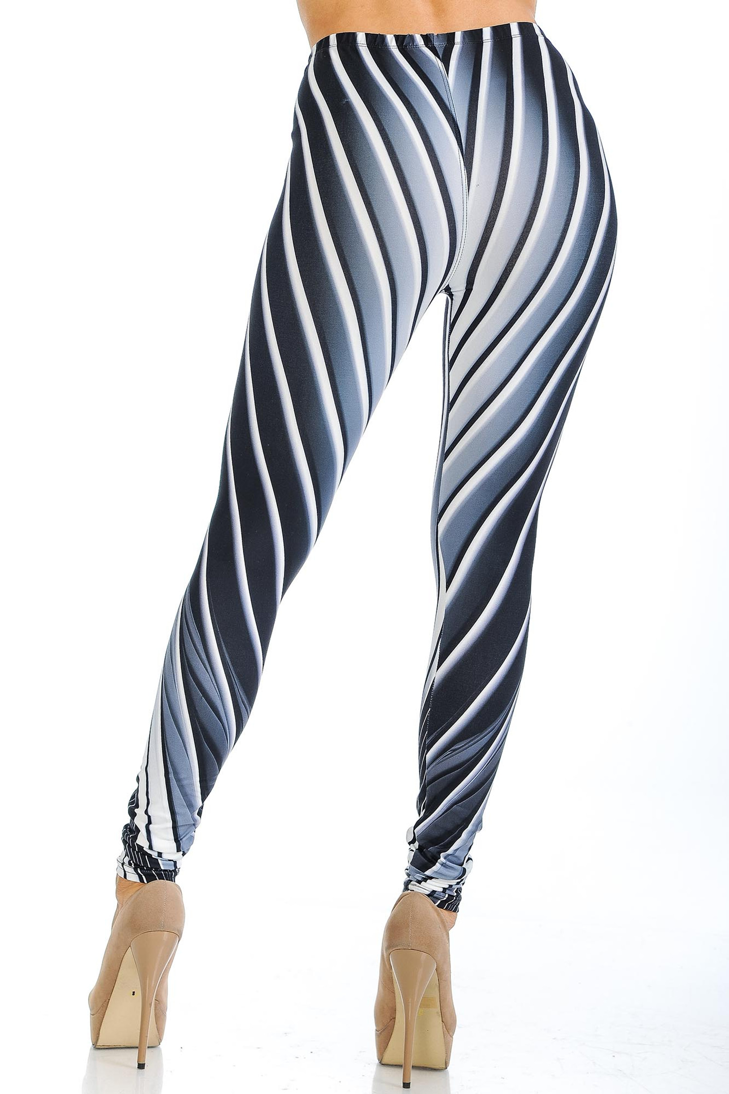 Creamy Soft Contour Body Lines Leggings - USA Fashion™