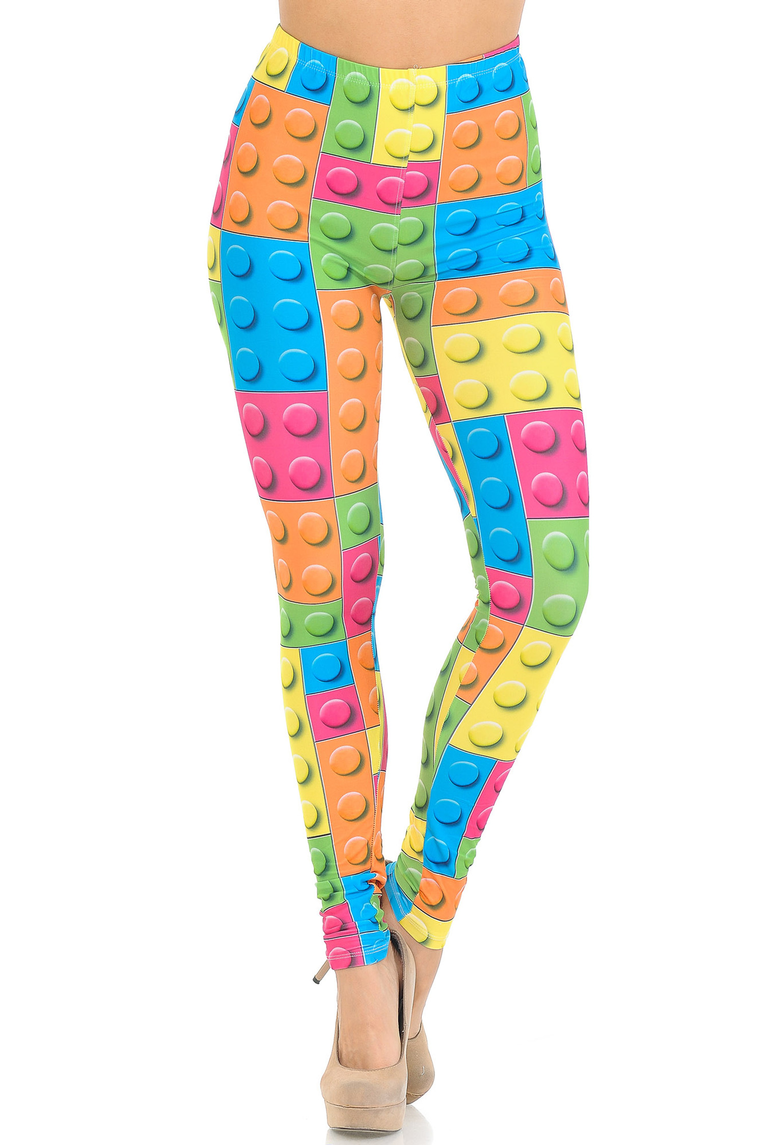 Creamy Soft Lego Extra Small Leggings - USA Fashion™