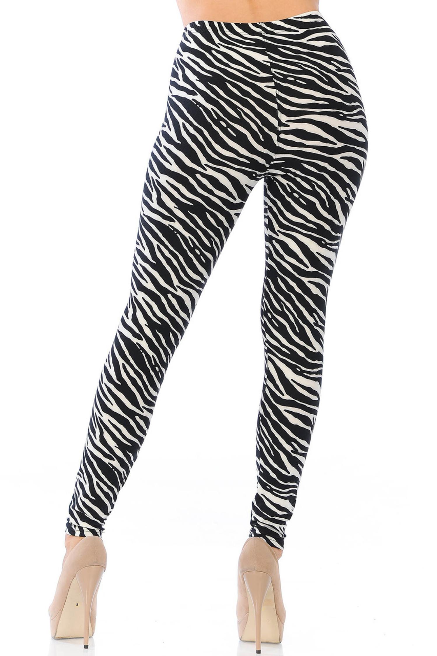 Buttery Soft Zebra Leggings
