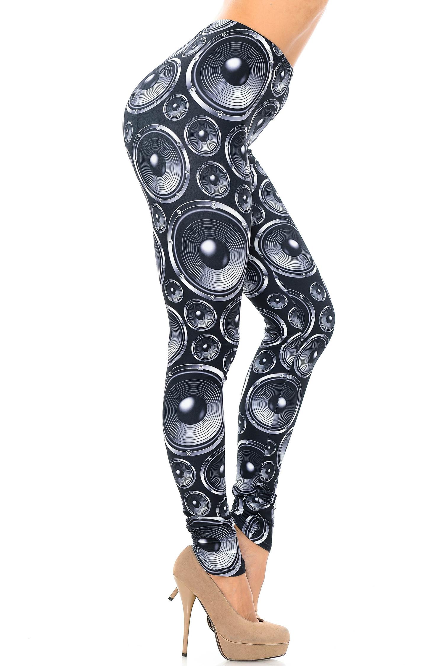 Creamy Soft Speaker Leggings - USA Fashion™