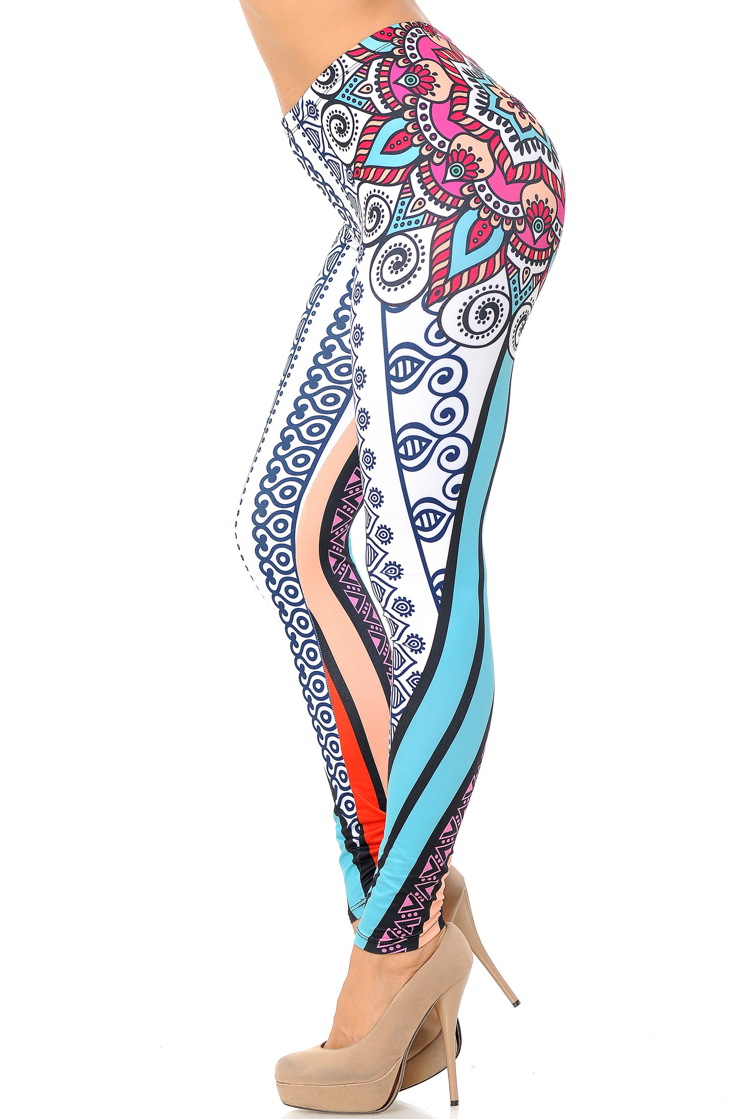 Double Brushed Sexy Mandala Leggings