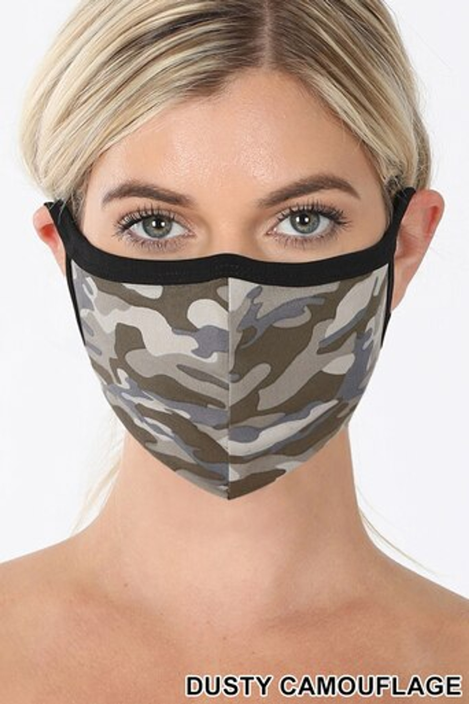 Dusty Camouflage Face Mask - Imported