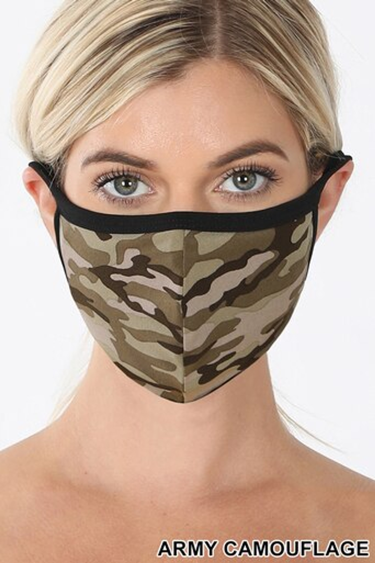 Army Camouflage Face Mask - Imported