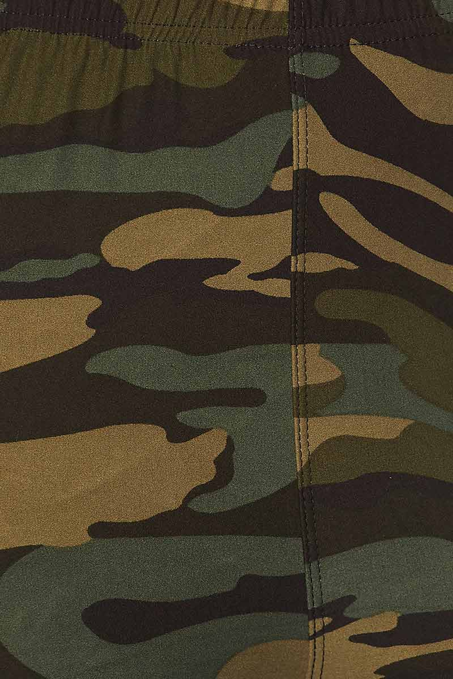 Buttery Soft Green Camouflage Capris