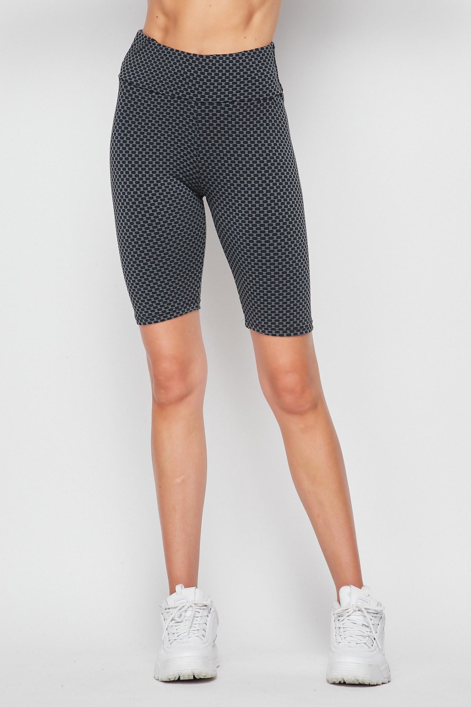 Scrunch Butt Sculpting High Waisted Biker Shorts