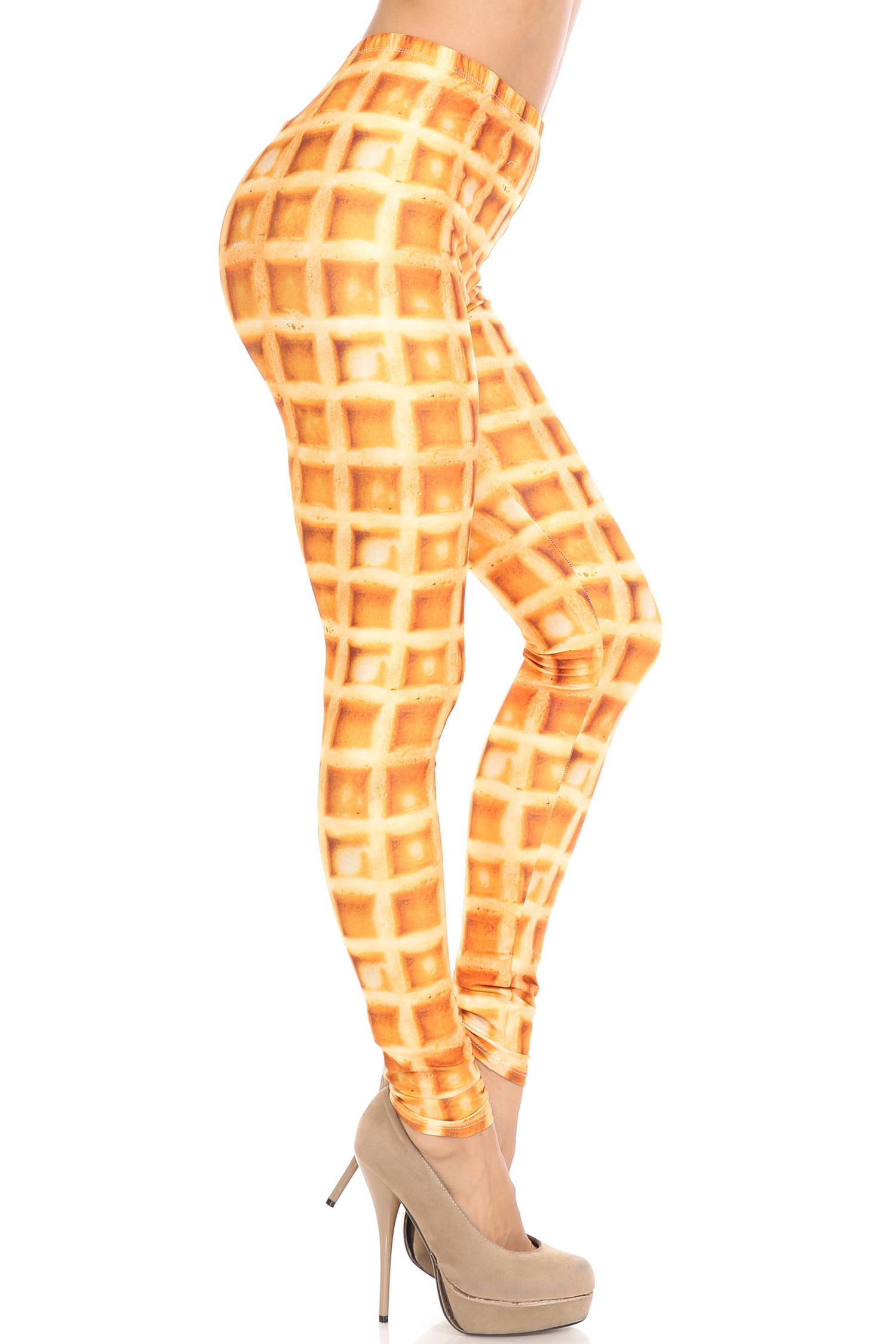 Creamy Soft Waffle Leggings - By USA Fashion™