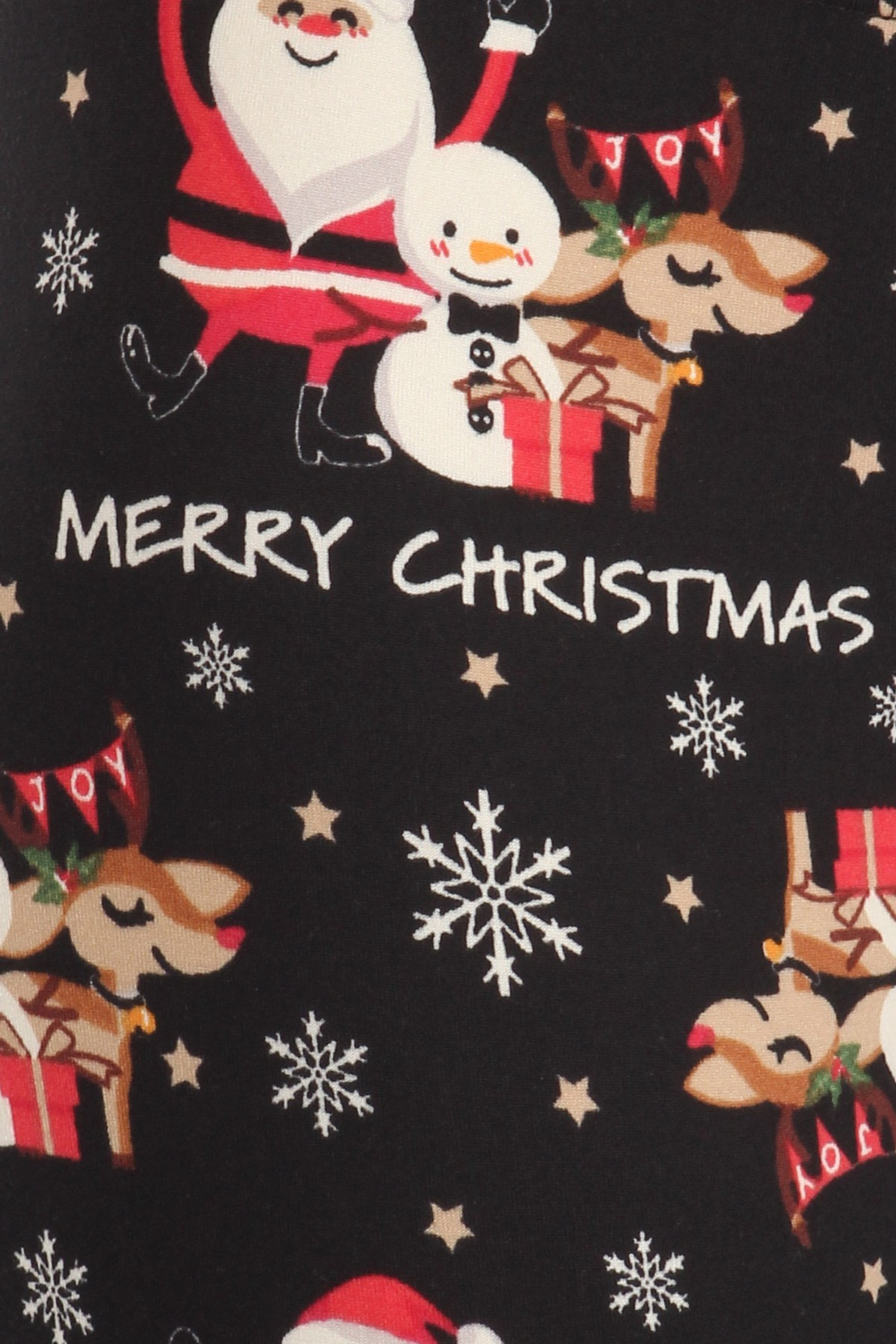 Soft Fleece Merry Christmas Leggings
