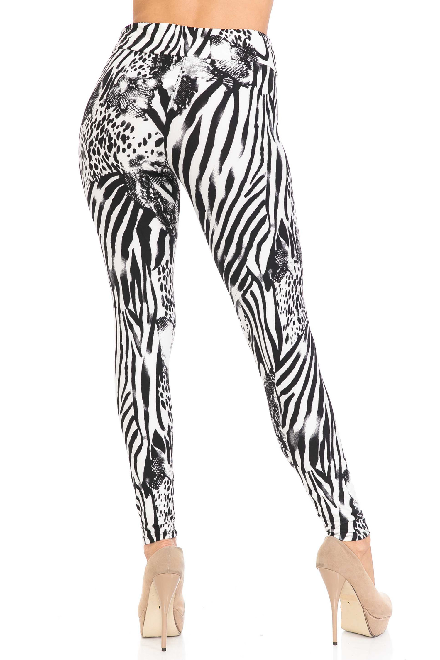 Buttery Soft Animal Safari High Waisted Leggings