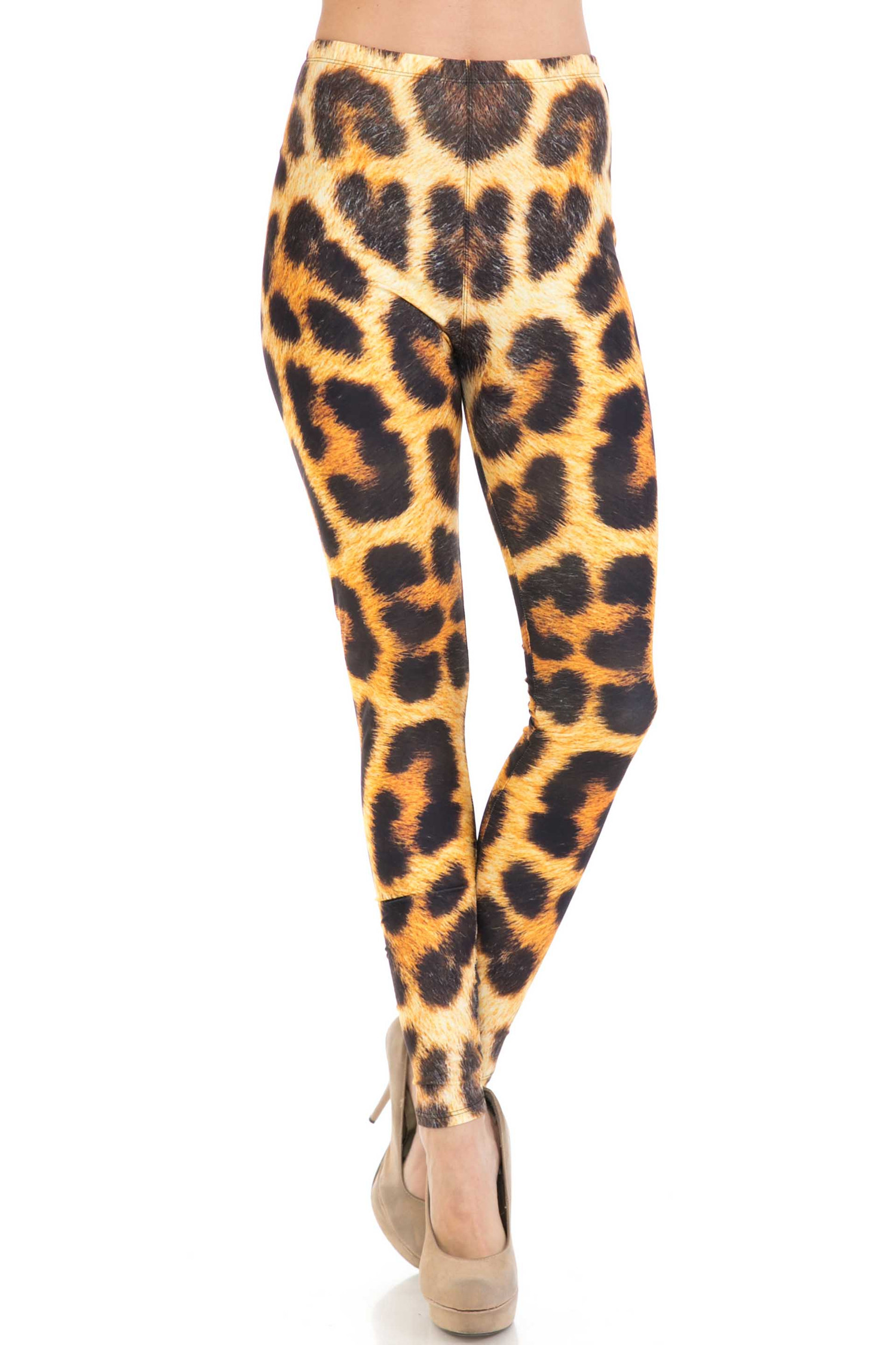 Creamy Soft Spotted Panther Leggings - USA Fashion™