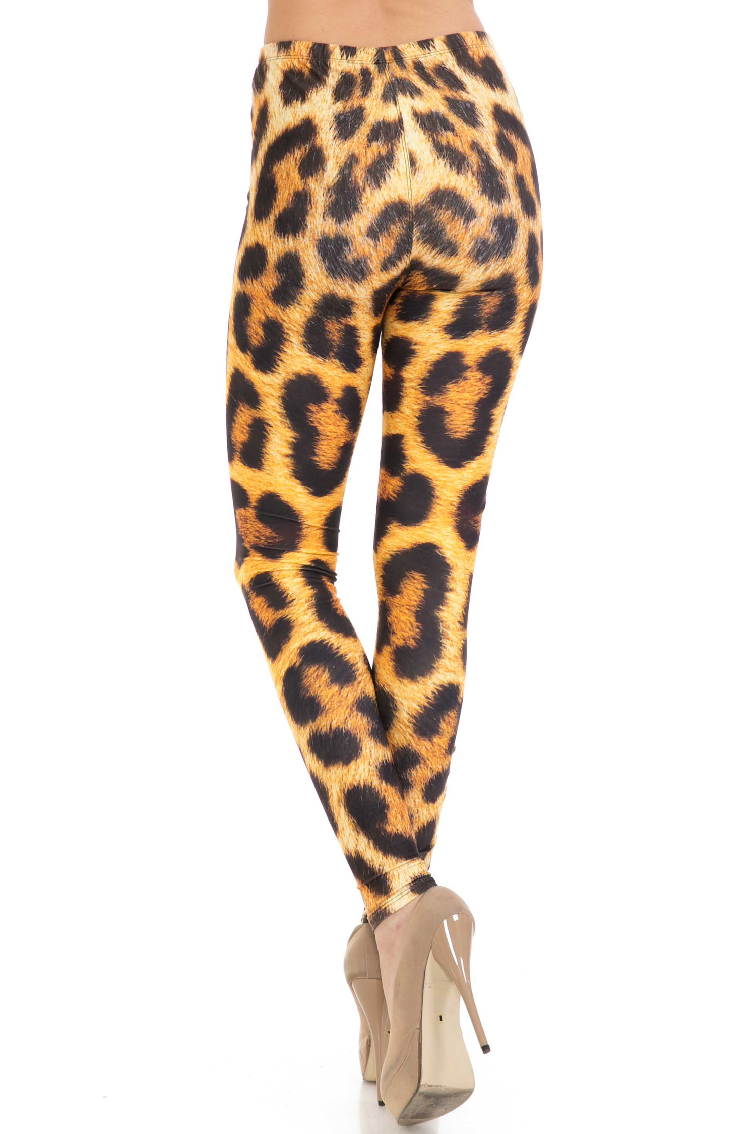 Creamy Soft Spotted Panther Plus Size Leggings - USA Fashion™