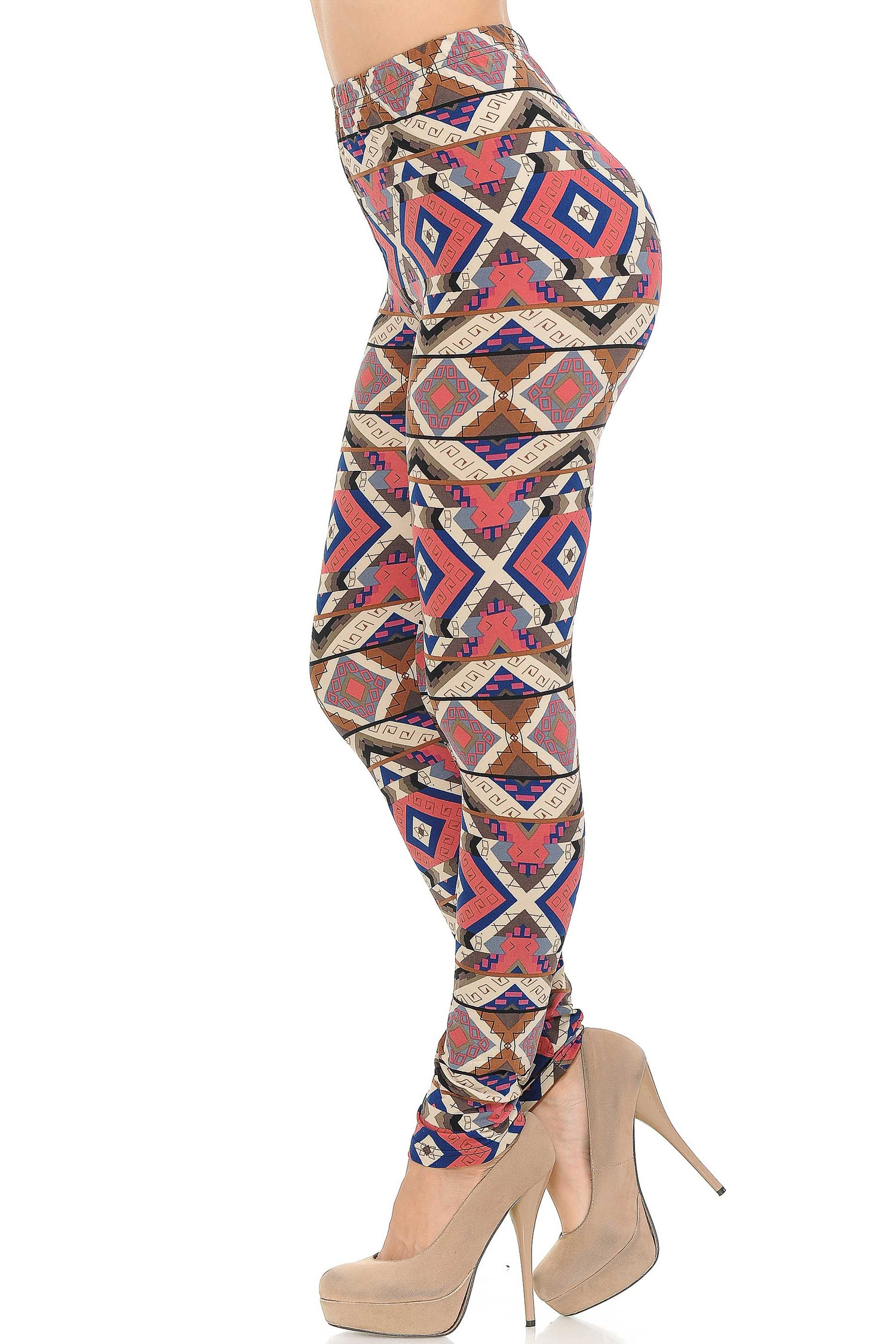 Buttery Soft Inflection Tribal Leggings