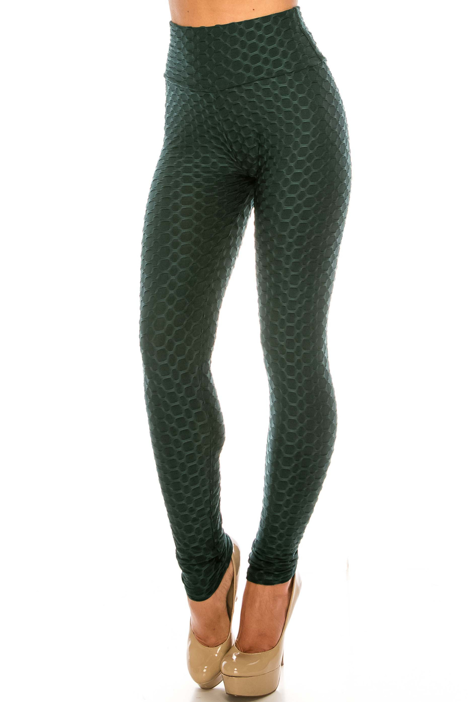 Scrunch Butt Sport Leggings with Side Pockets