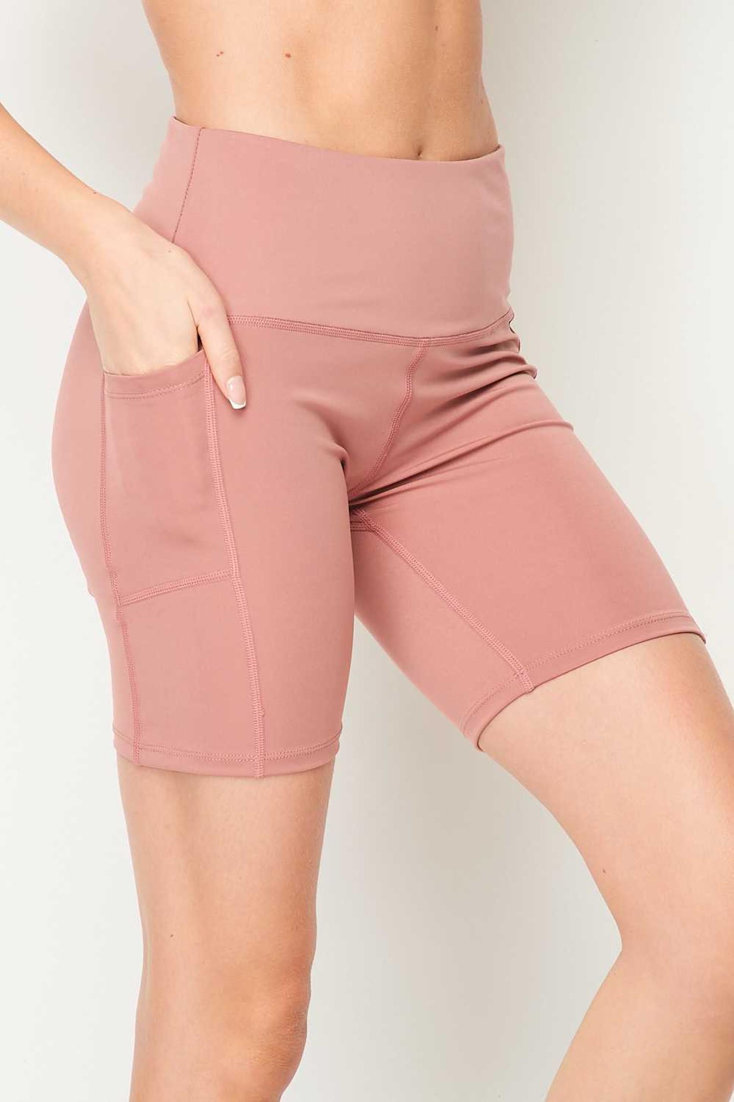 Sport High Waisted Biker Shorts