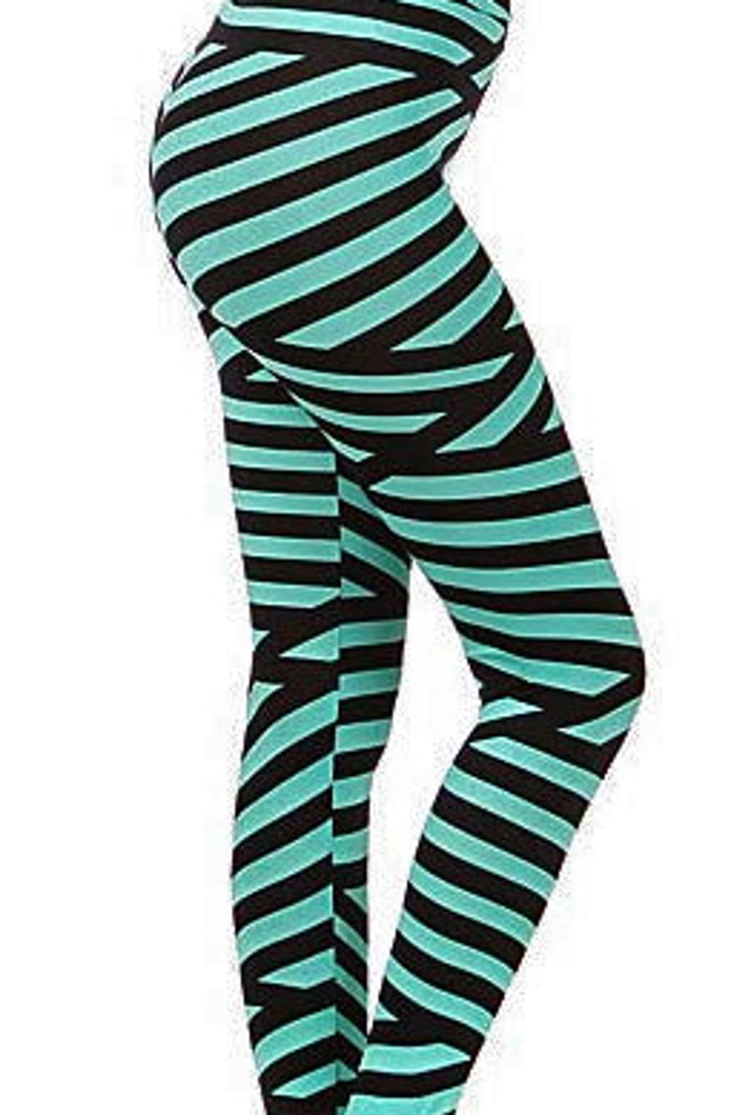 Mint Bandeau Leggings
