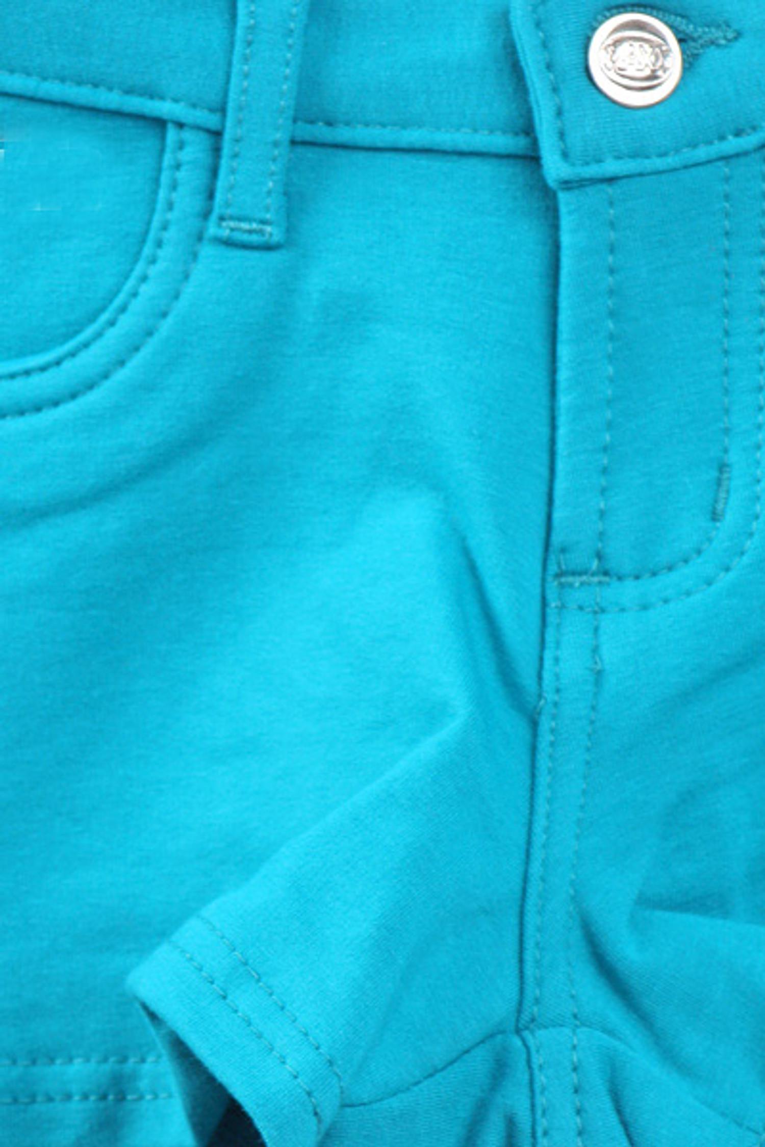 Jade Signature Cotton Shorts