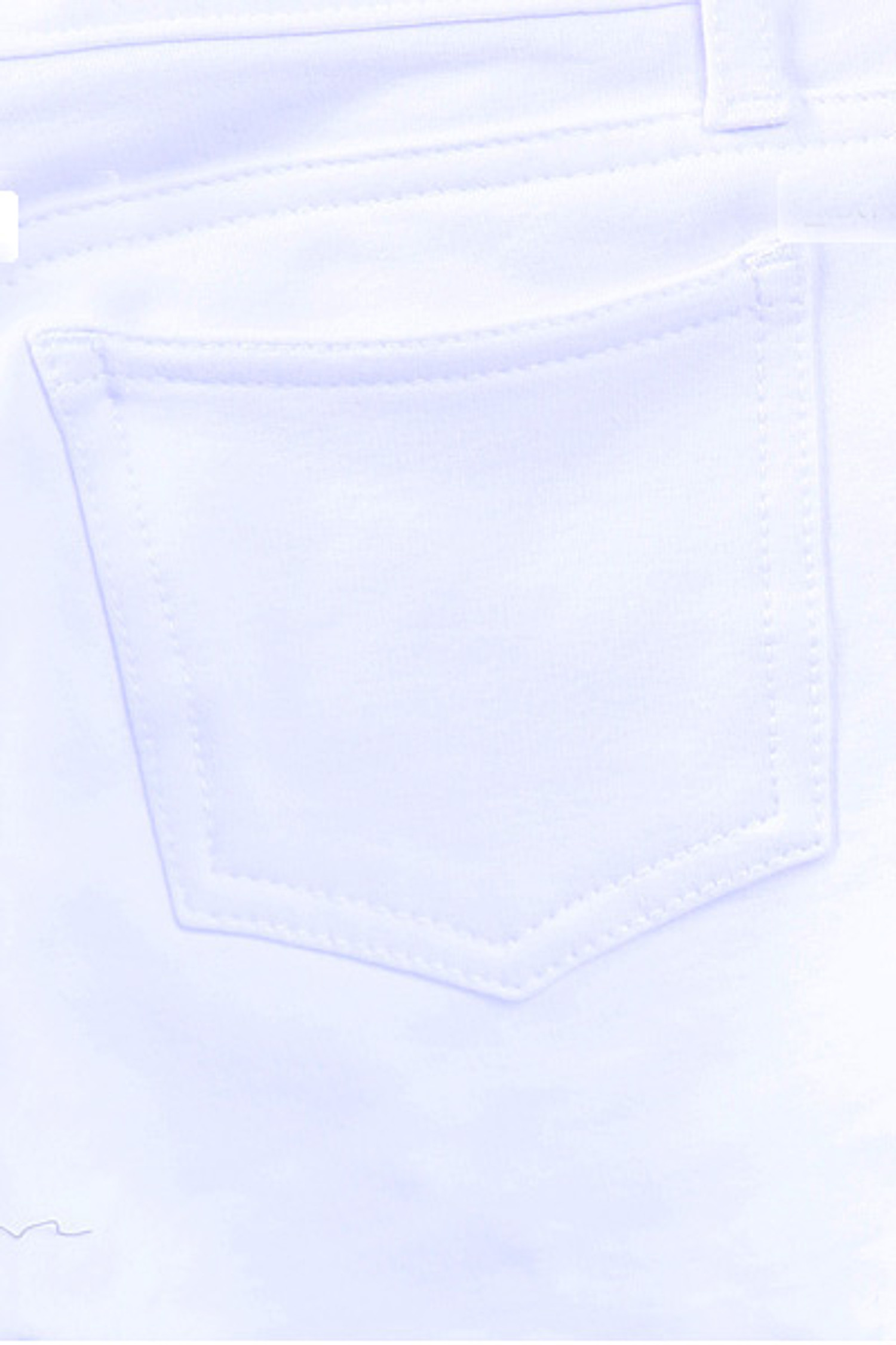 White Signature Cotton Shorts