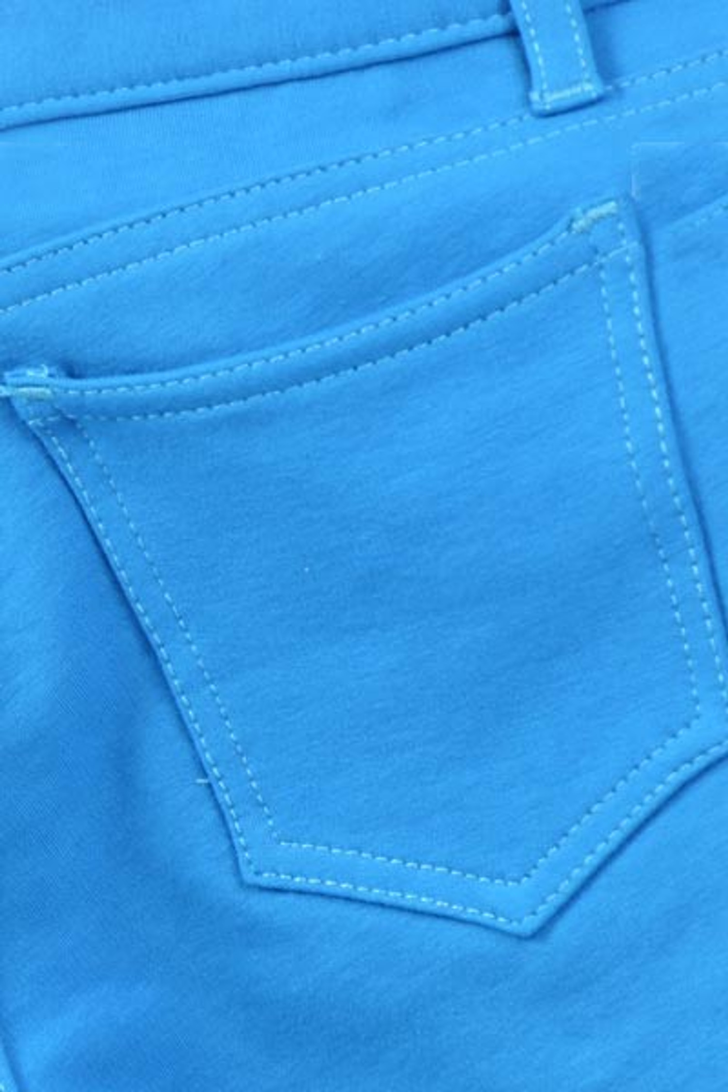 Turquoisel Signature Cotton Shorts