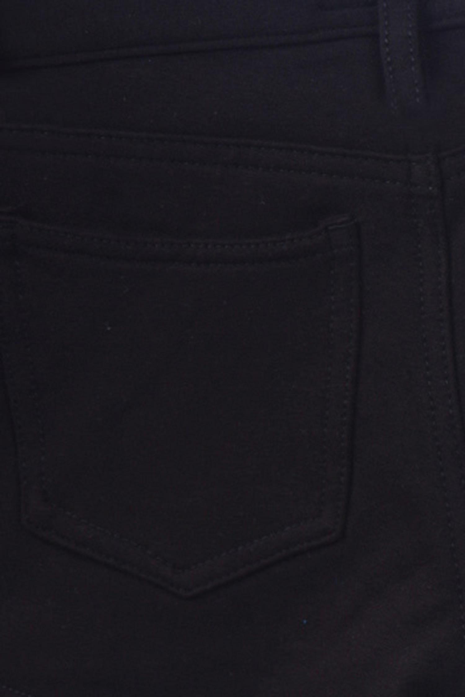 Black Signature Cotton Shorts