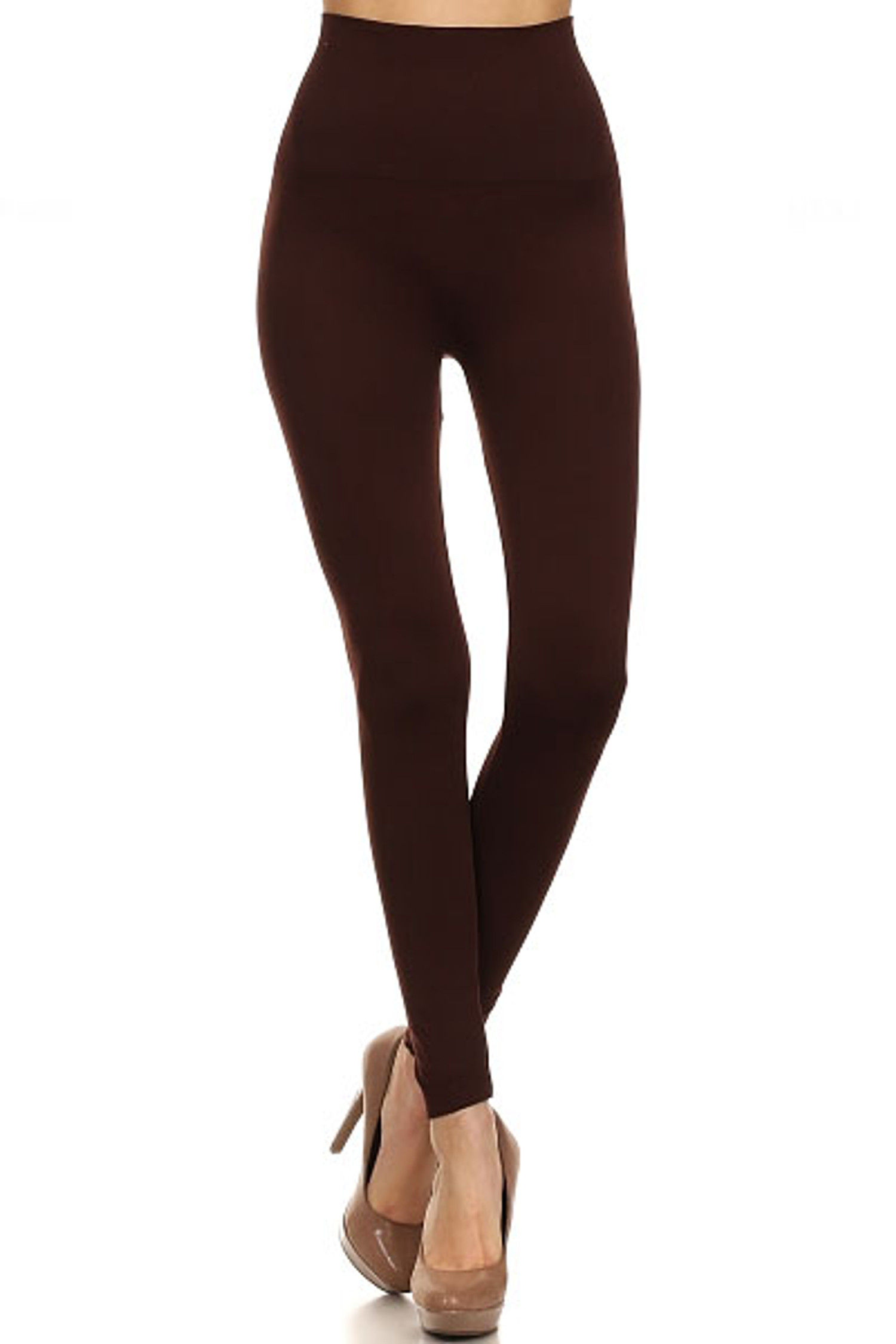 High Waisted Figure Contouring Leggings
