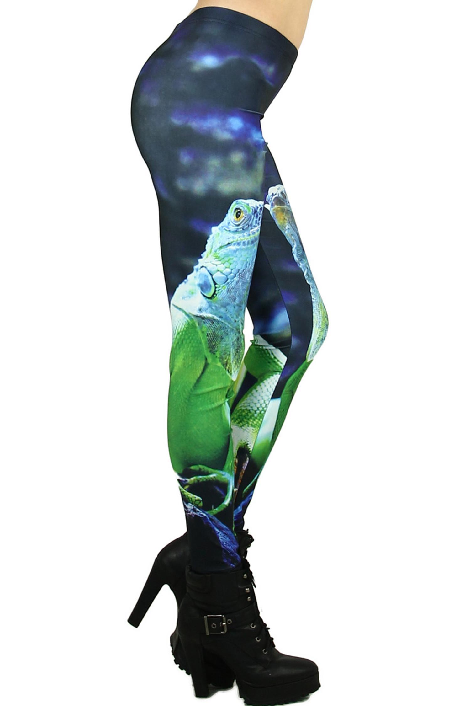 Iguana Leggings