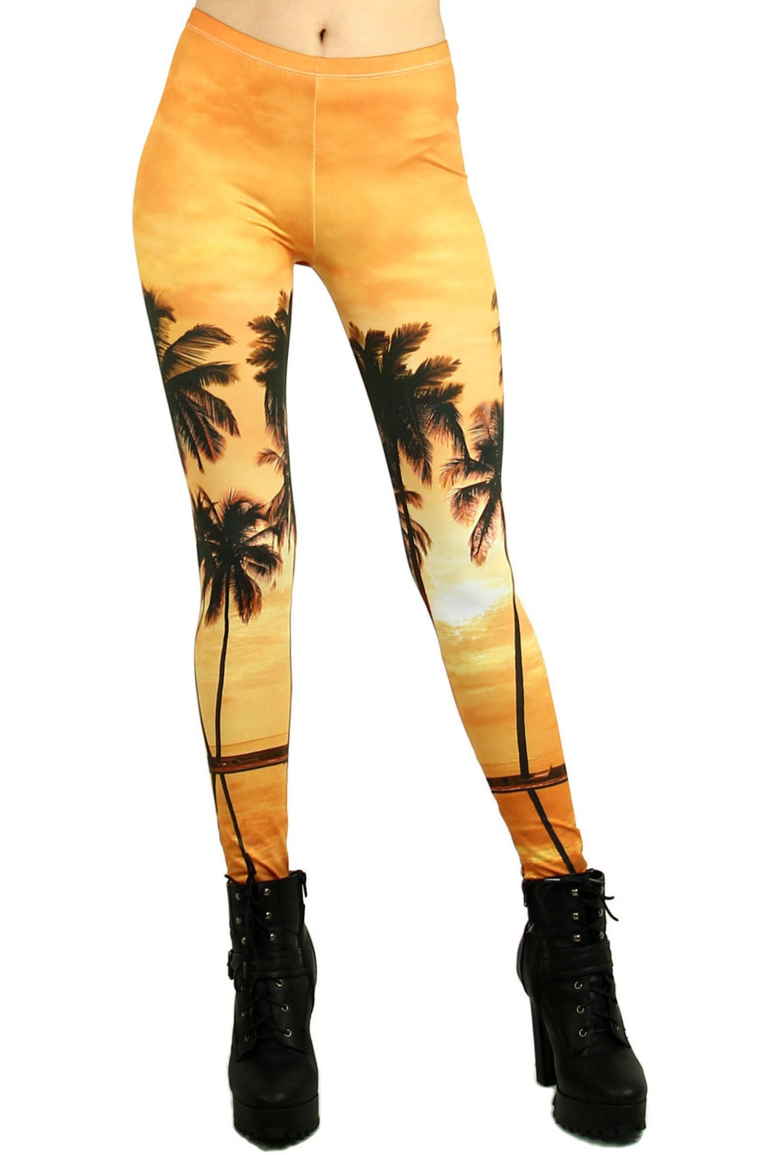 Palm Sunset Leggings