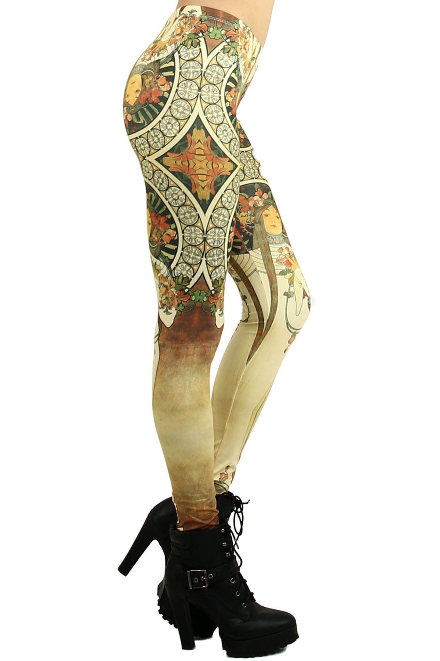 Gaia Goddess Leggings