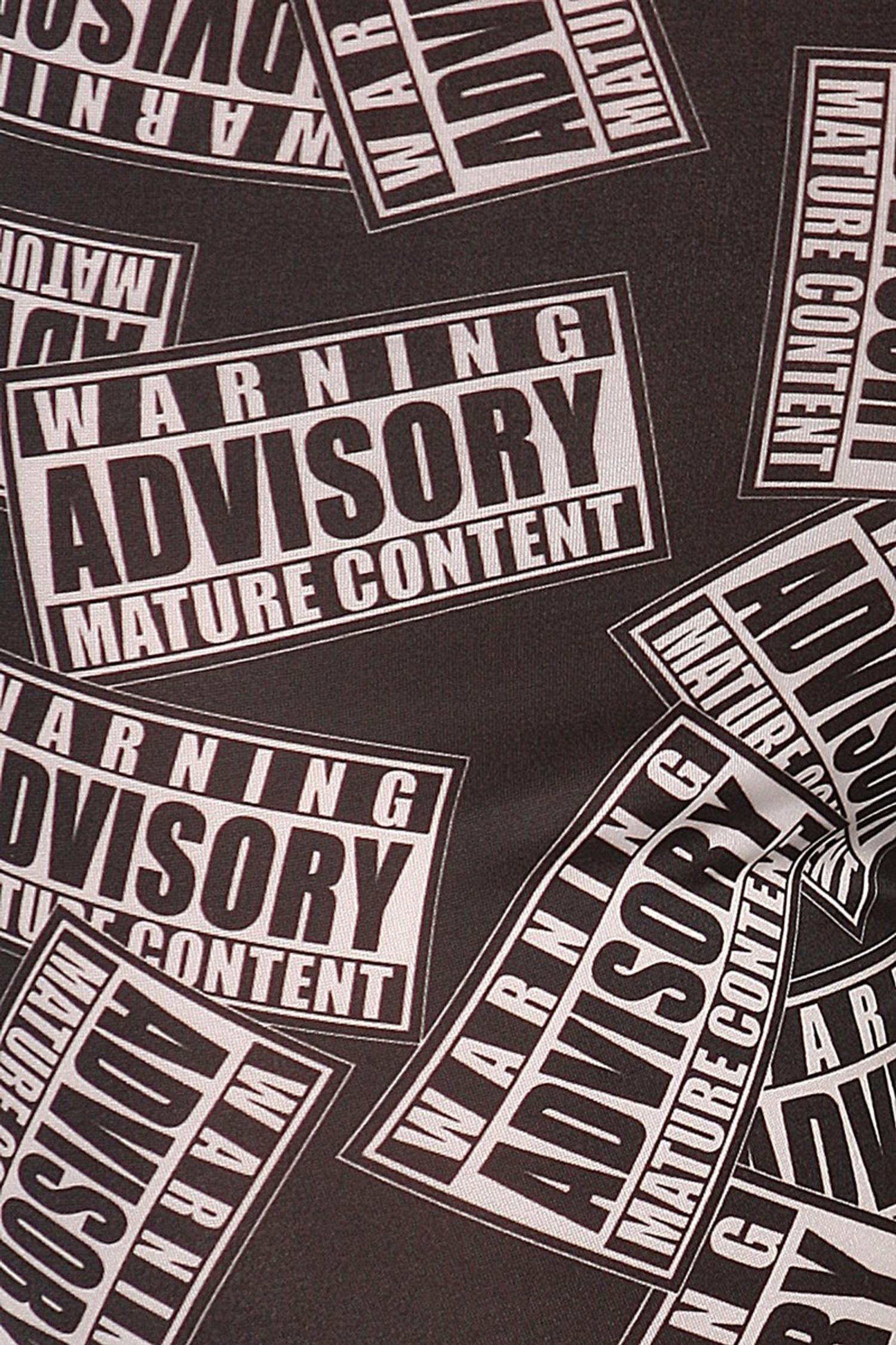 Mature Content Advisory Leggings