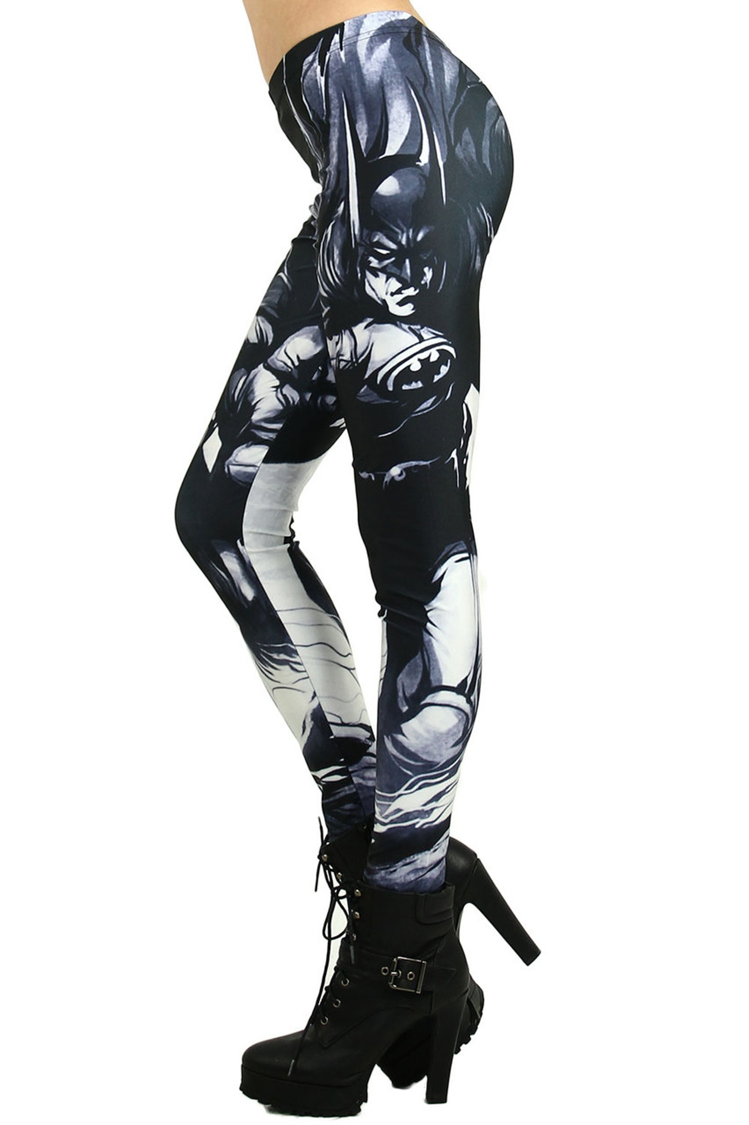 Black Gotham Leggings