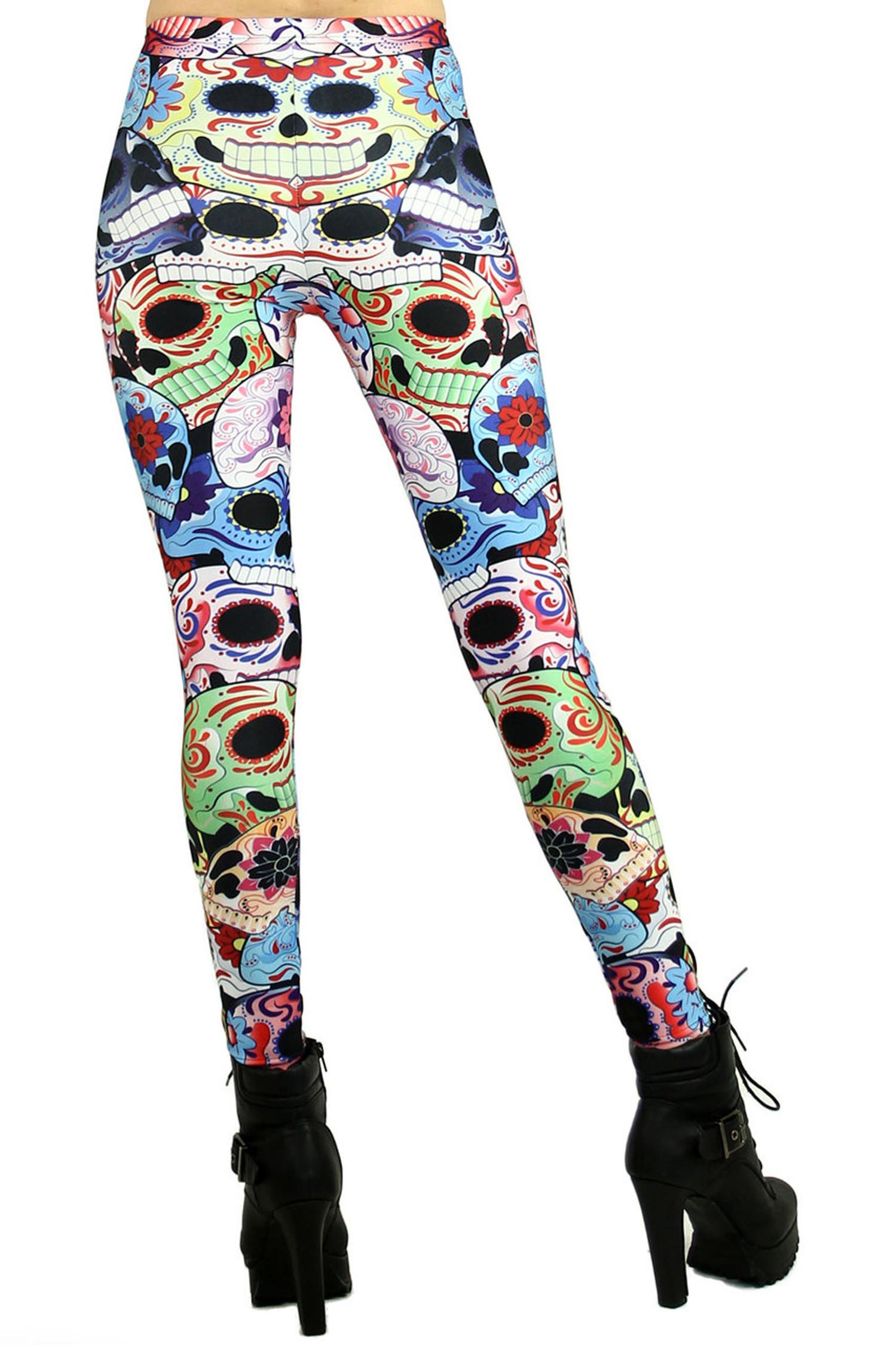 Sugar Skull Leggings 2