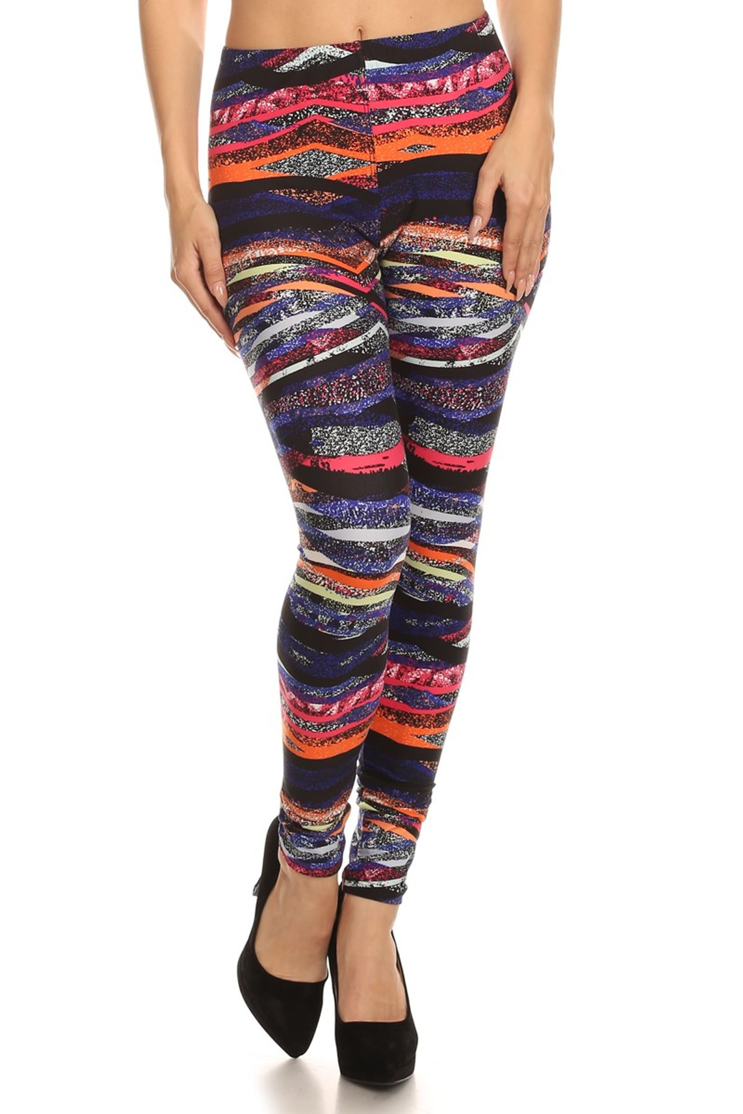 Bands of Color Leggings