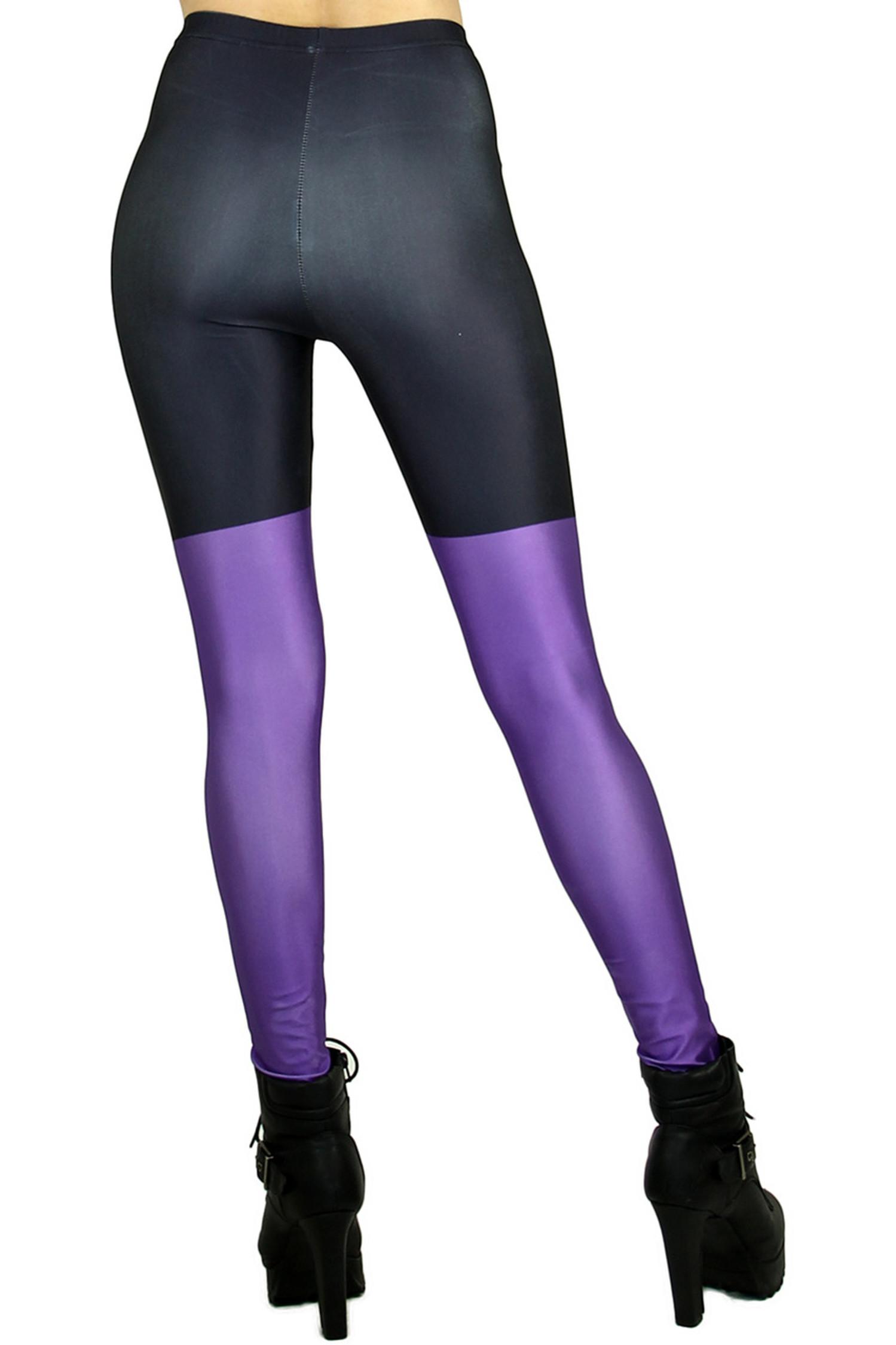 Purple Sailor Moon Cat Leggings - Plus Size
