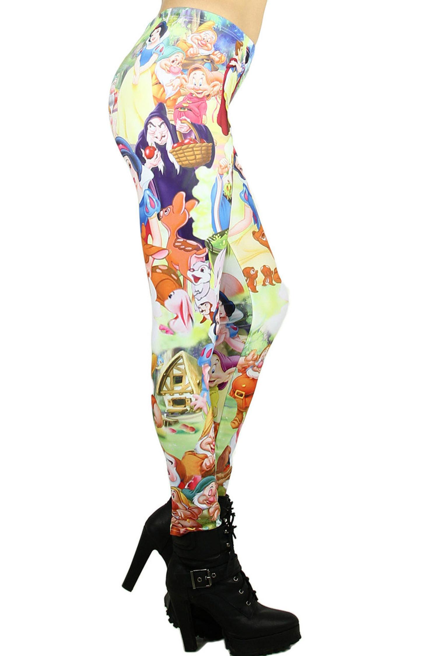 Snow White Princess Leggings