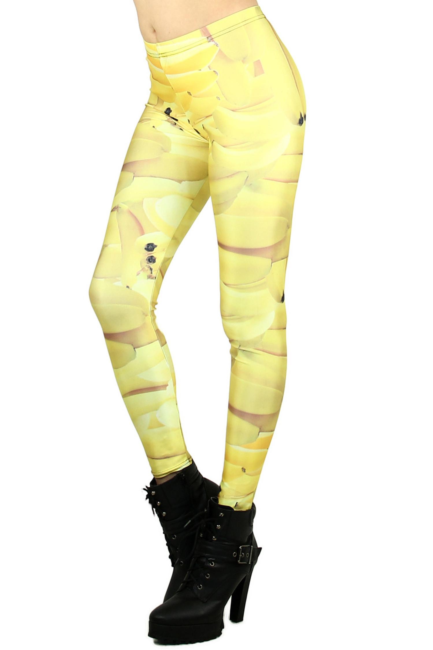 Go Bananas Leggings - Plus Size
