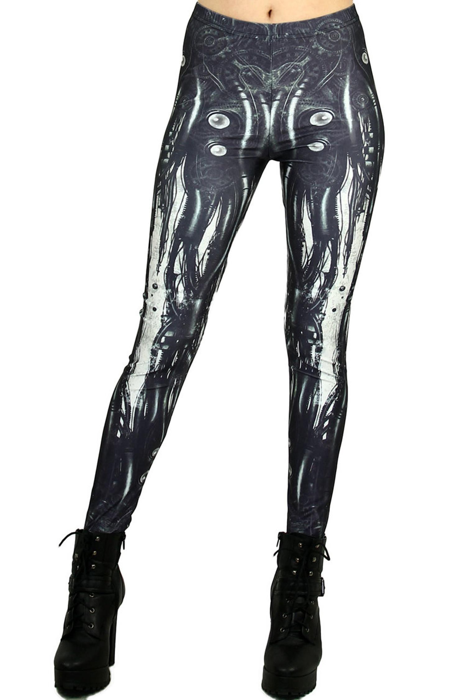 Steampunk Anatomy Leggings - Plus Size