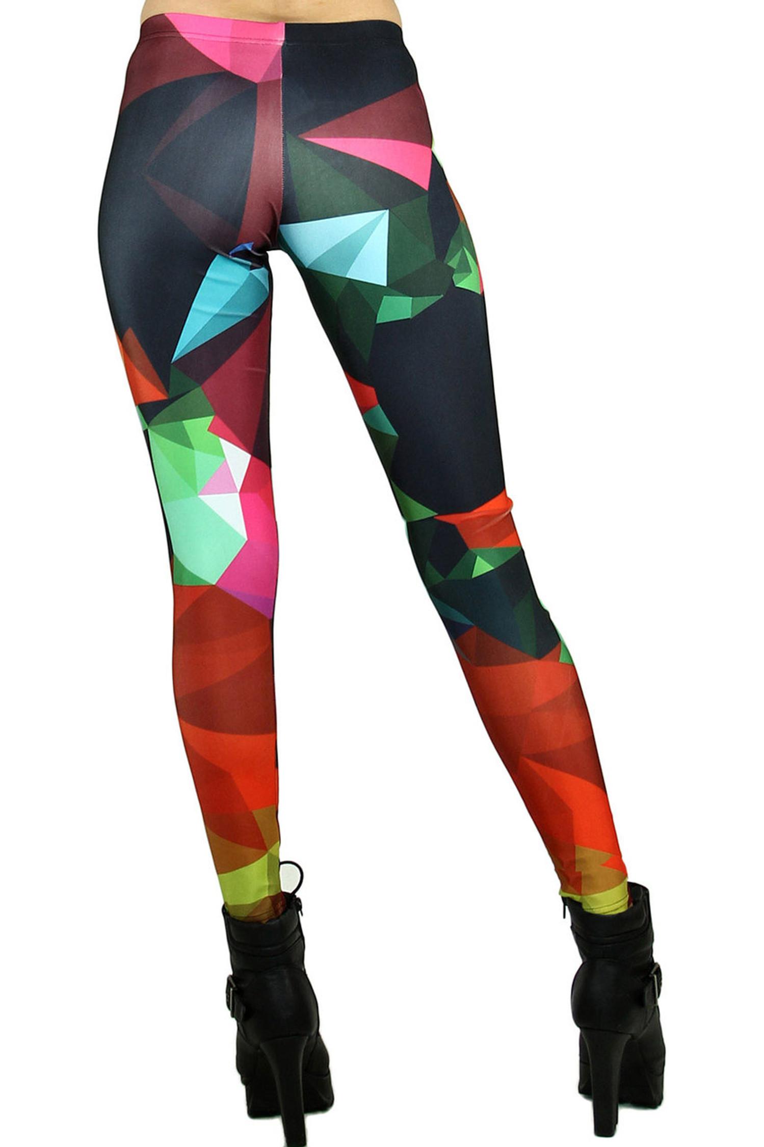 Sassy Colorful Shapes Leggings