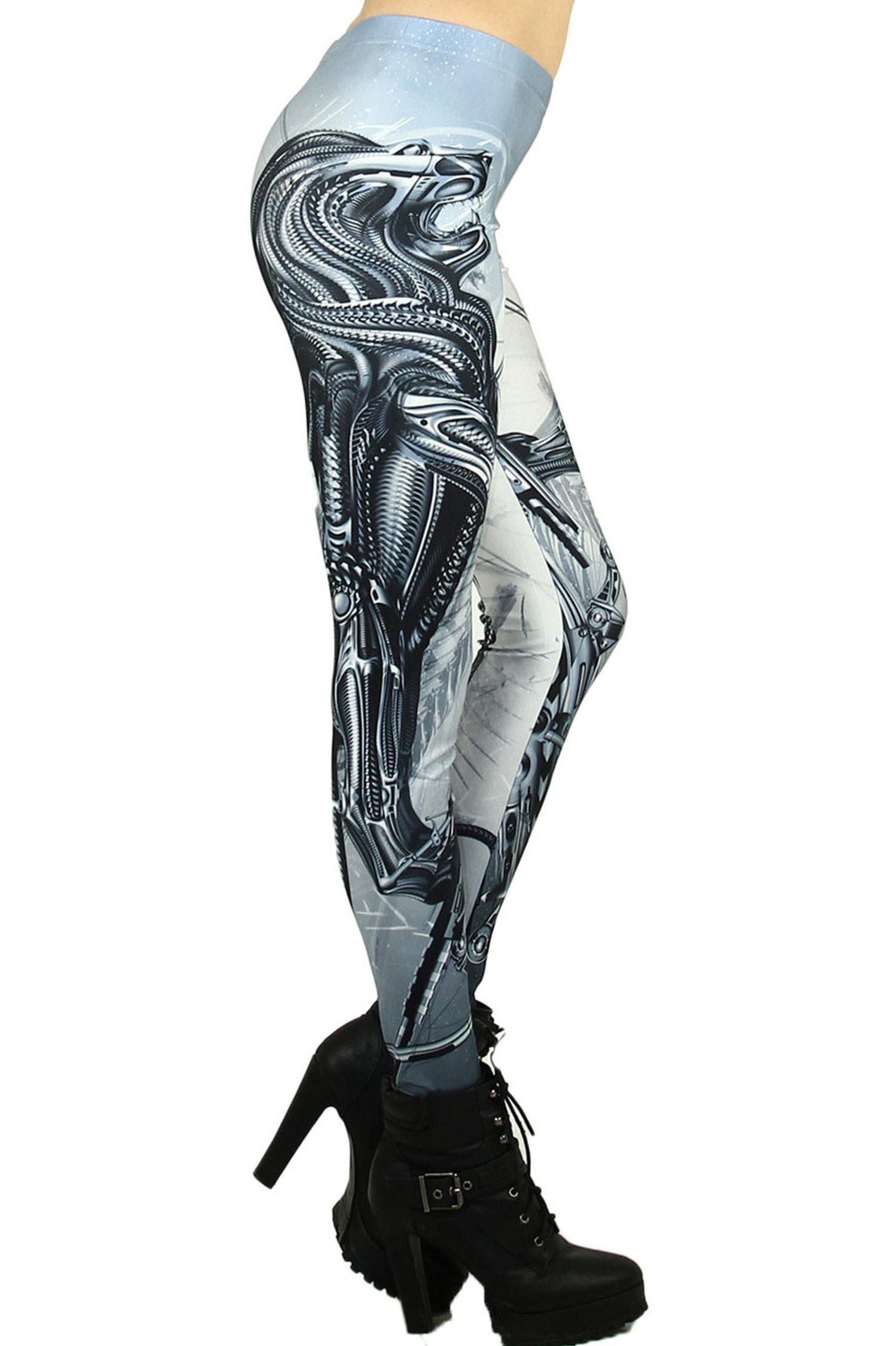 Epic 3D Lion Leggings