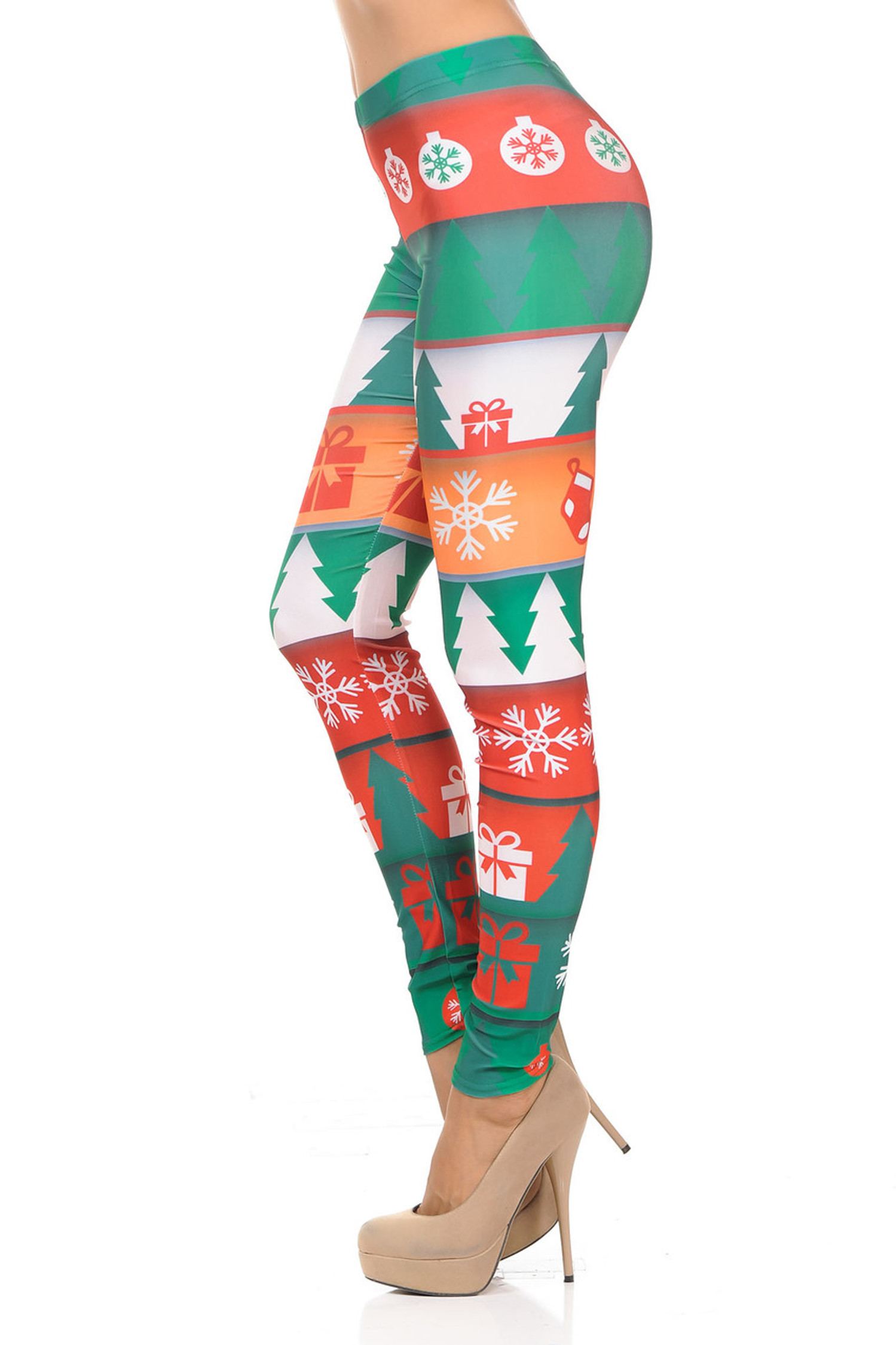 Holiday Tidings  Leggings